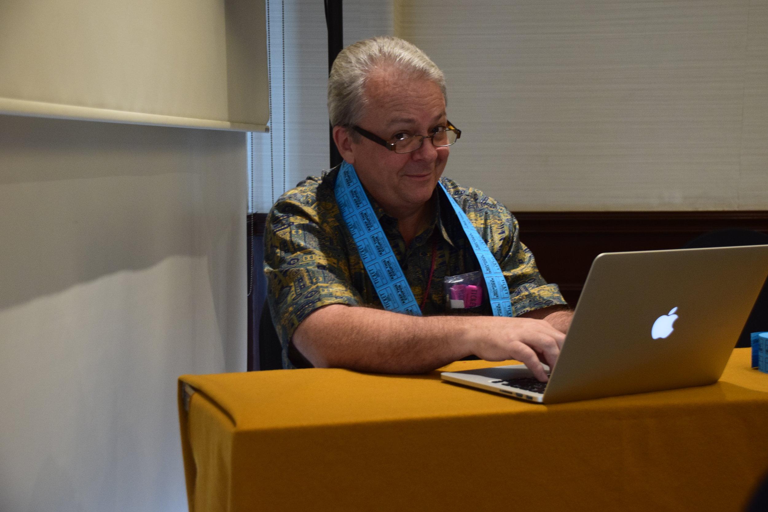 Rapporteur General Craig Schoer/Photo: ESENDOM.