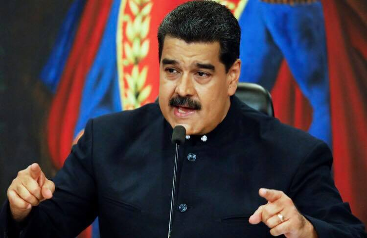 Venezuelan President Niclás Maduro.