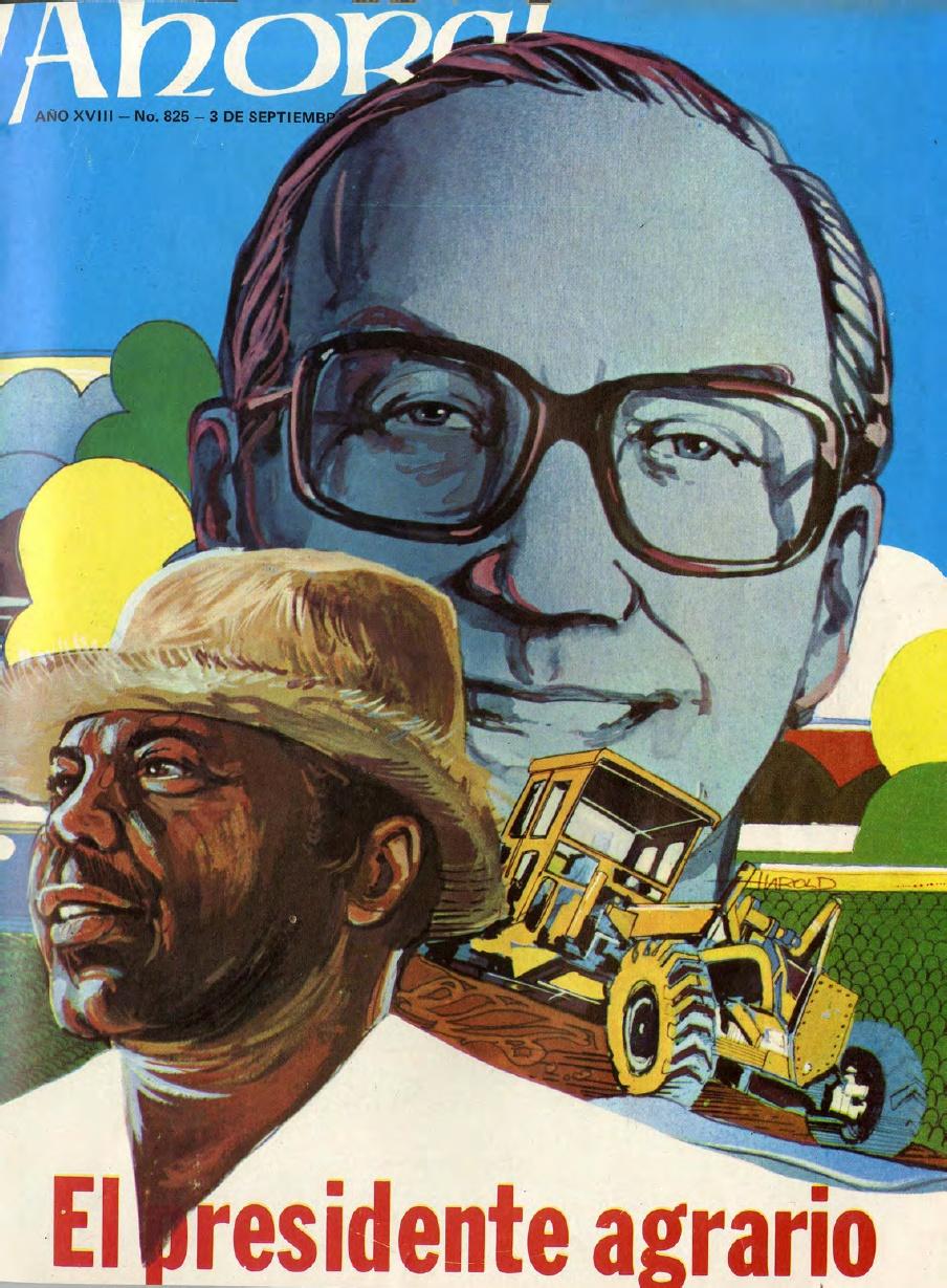 La llegada al poder de Antonio Guzmán Fernández en 1978 fue el comienzo de una apertura democrática en Santo Domingo. Revista ¡Ahora! No.825, Septiembre de 1979. Fuente:    Lorenzo Paulino   .
