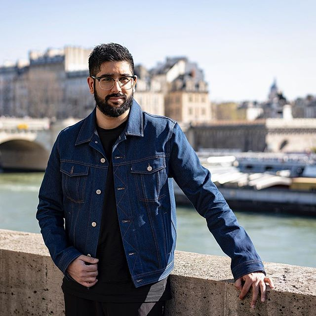 Basking in the Paris sunshine.  Sad to have herd the news about the Notre Dame fire earlier this week, this was taken across the road from the famous church.  Photography @letishavilkhu  Edit @styleandstylus  #paris #notredame #sightseeing ————————————————— #lfwm #lfw #pfw #dapper #denimjacket #menwithstyle #streetstyle #style #sartorial #gentlemen #attire #outfit #wednesday #france #sikh #indian #stylish #lifestyle #denim #bokeh #photography #menwithclass
