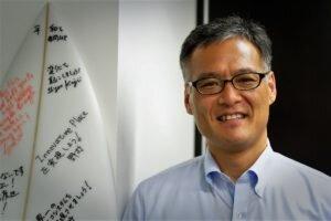 Dr Toshio Fujimoto est le patron du parc d'innovation de Shonan. Il est aussi un cadre important de Takeda.