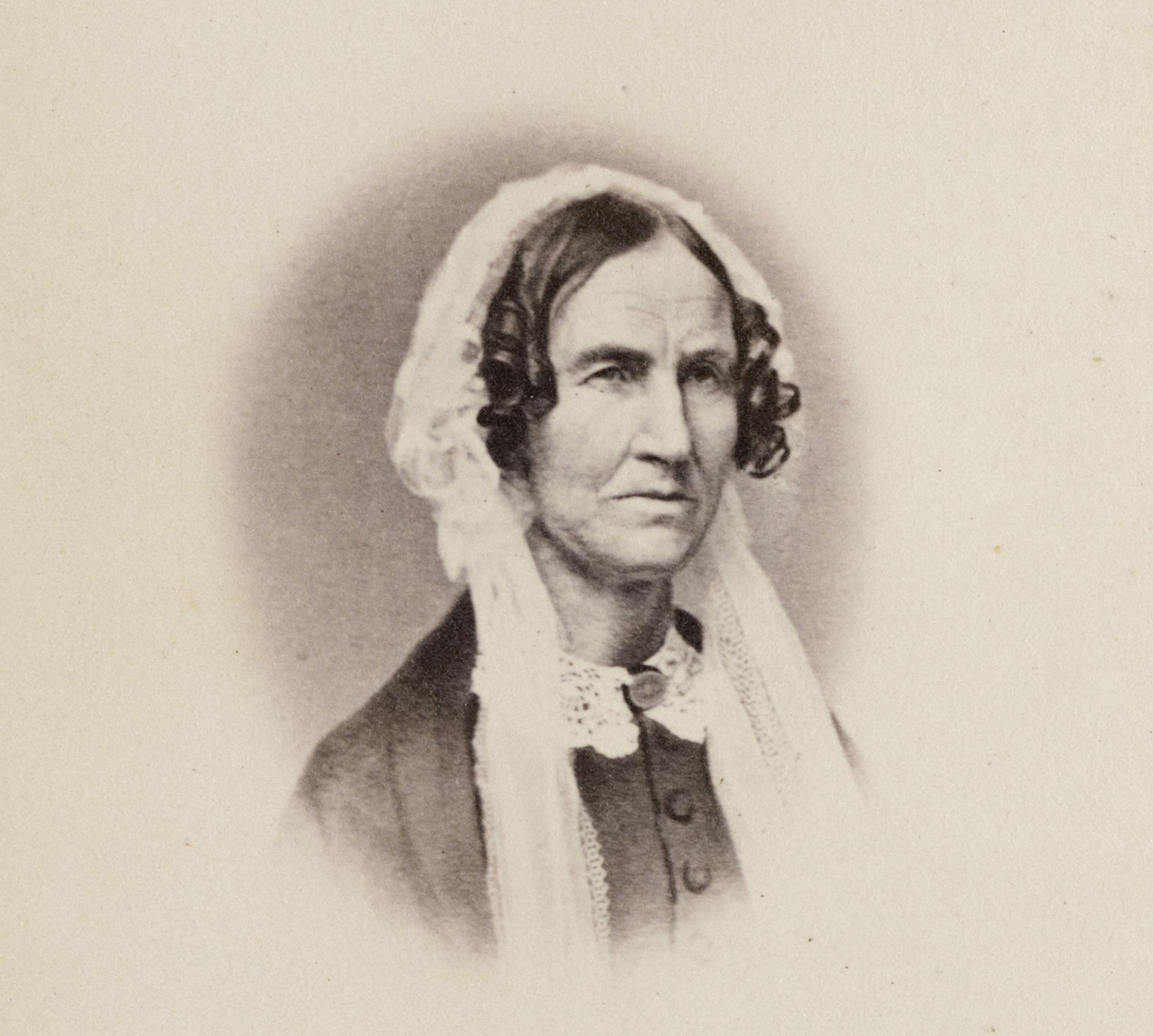 Orra White Hitchcock, scientific illustrator Courtesy of Smith College Archives