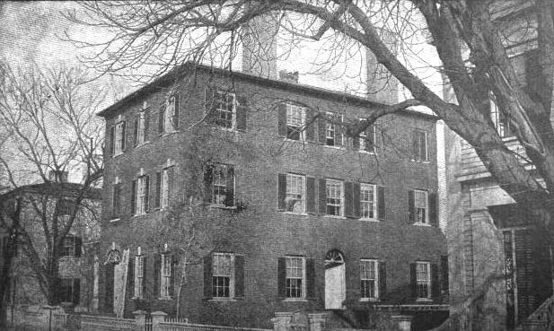 Hannah Gould's home in Newburyport, Massachusetts