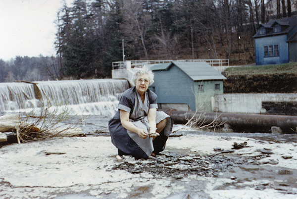 Katherine Palmer in Ithaca, New York.