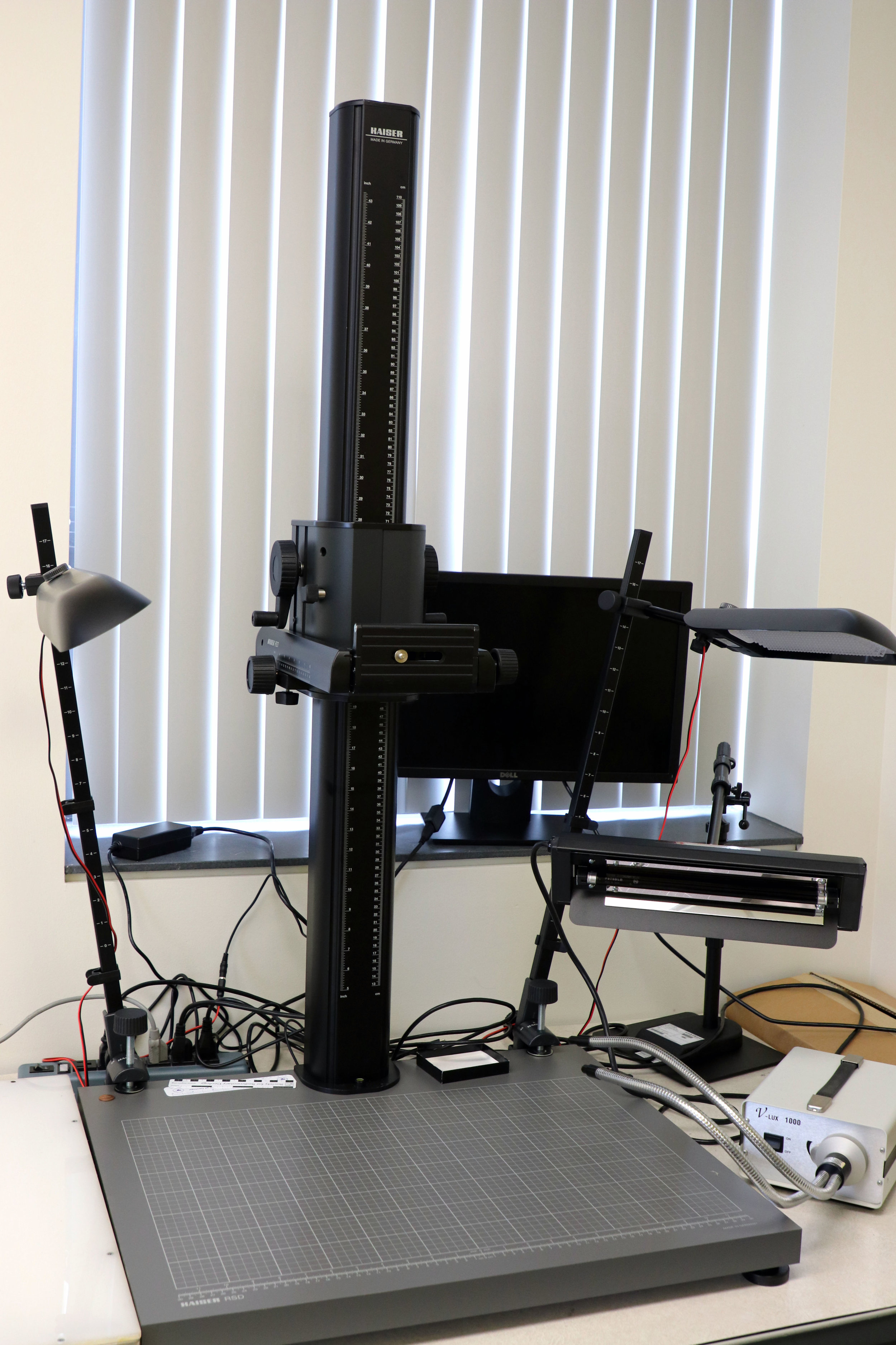Camera stand and lighting system