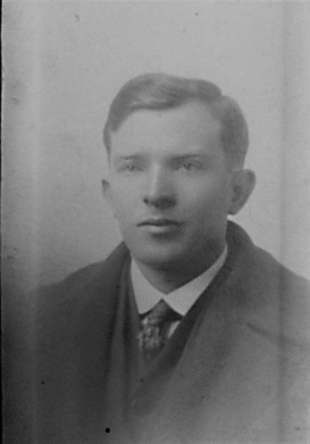 Corinne's maternal grandfather, James Joseph McHugh, who came to the US from Ireland in 1914.