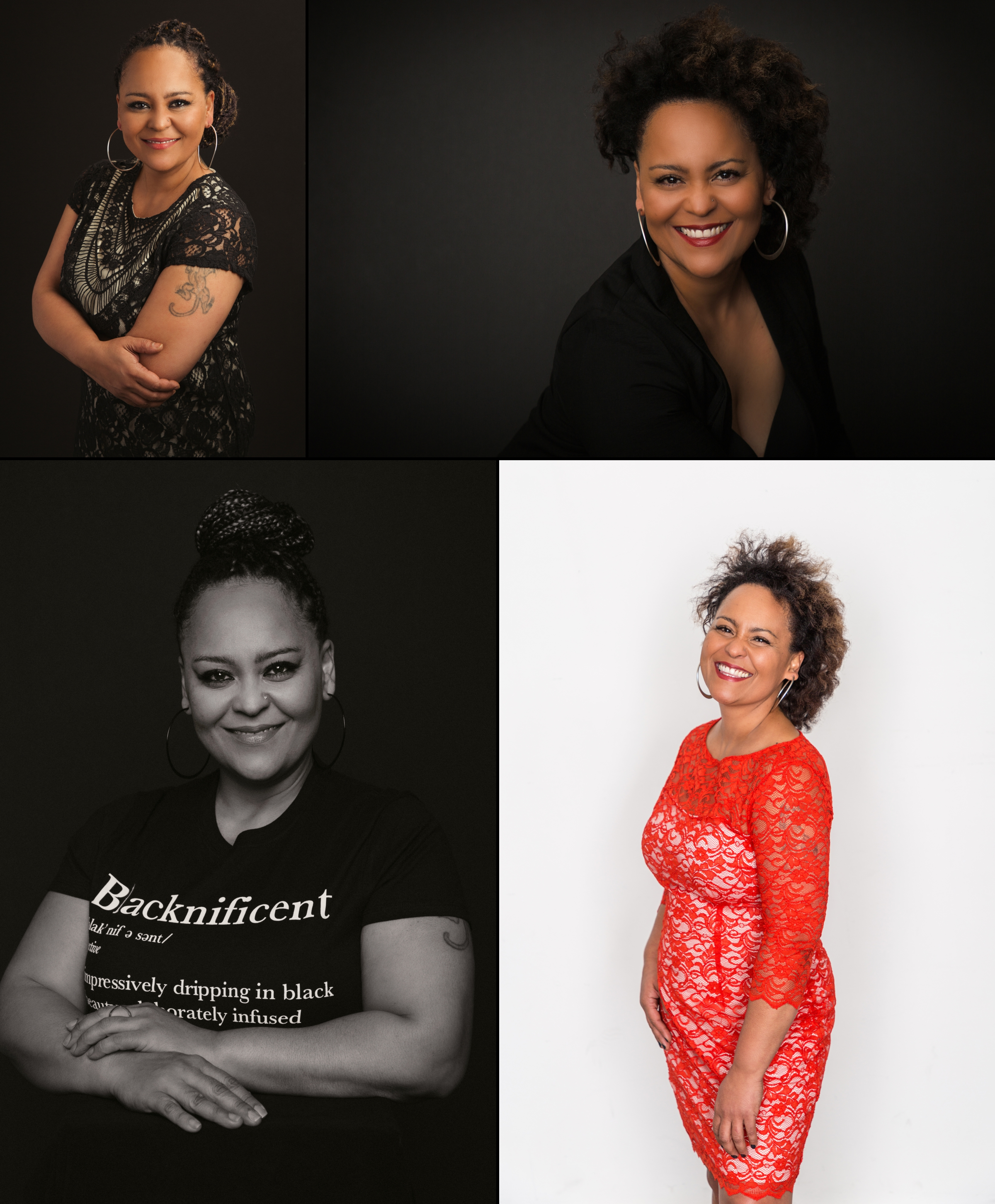 """Molly captured my emotions, personality…even my 'nose squinch'…my images are so ME. It's exactly what I wanted to celebrate my birthday. She's my photographer for life!"" - - Taifa C."