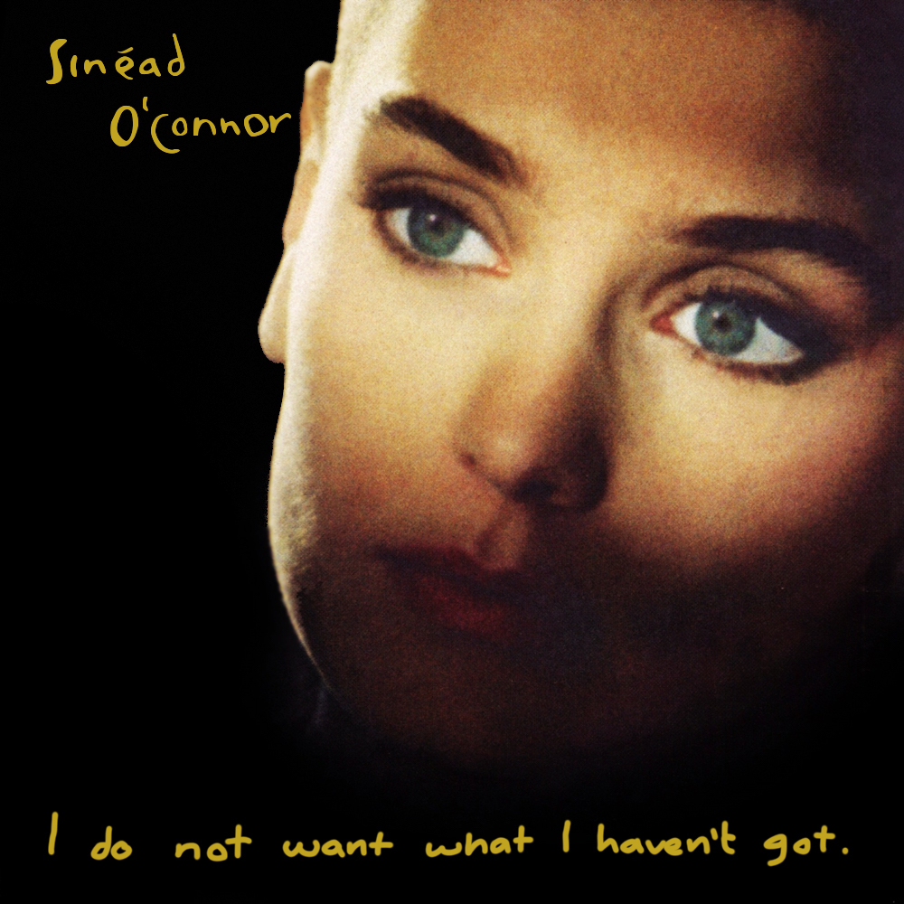 1990 - I Do Not Want What I Haven't Got