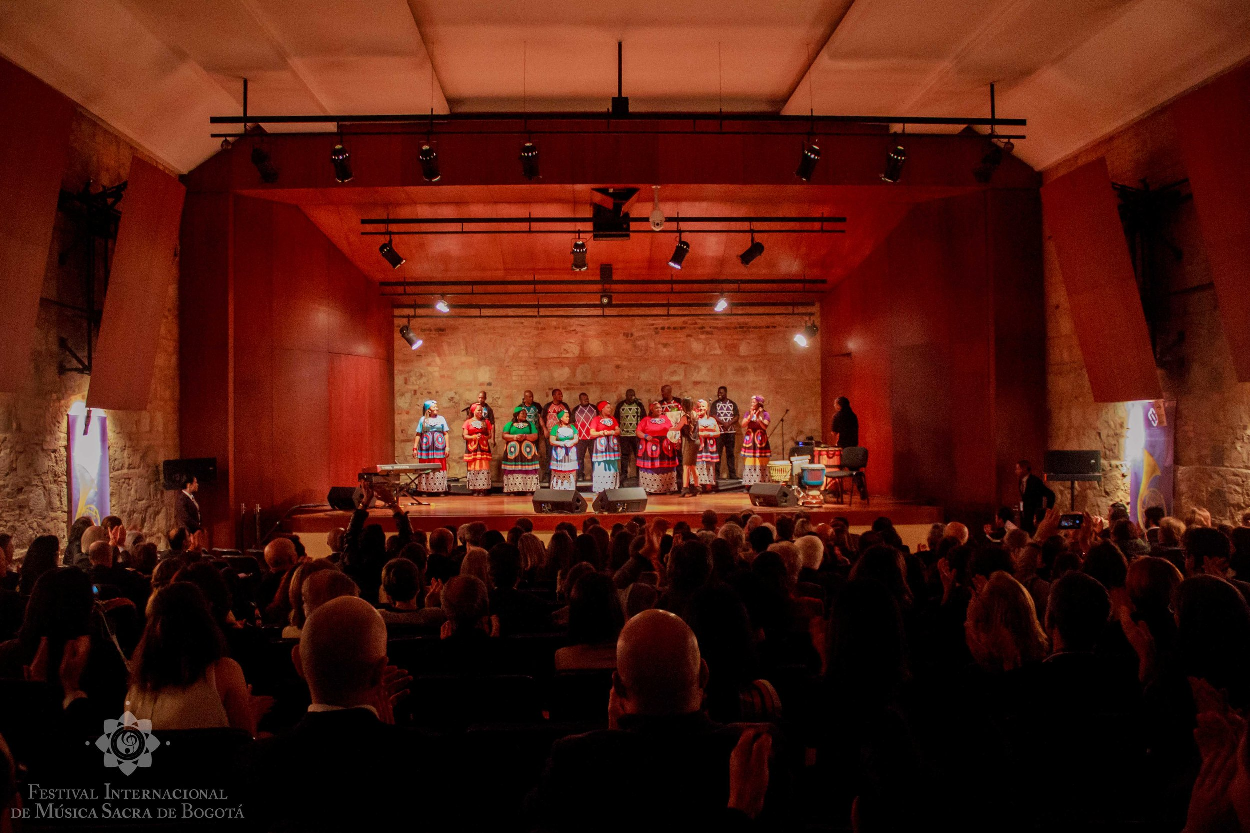 Sacred international music festival  Bogotá Colombia