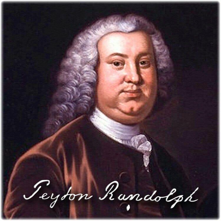 Peyton Randolph, President of 2nd Va Convention