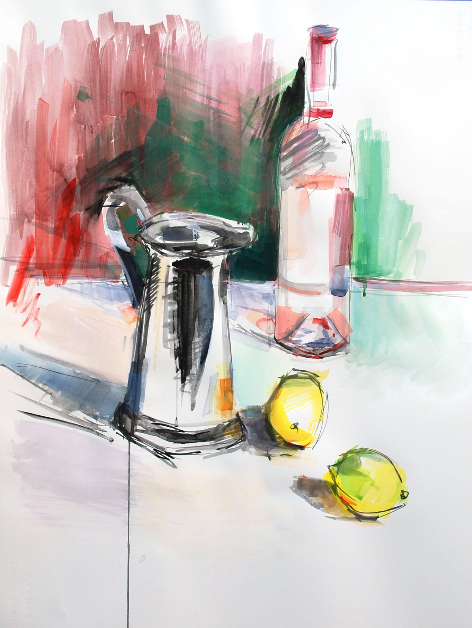 Rosé and Lemons