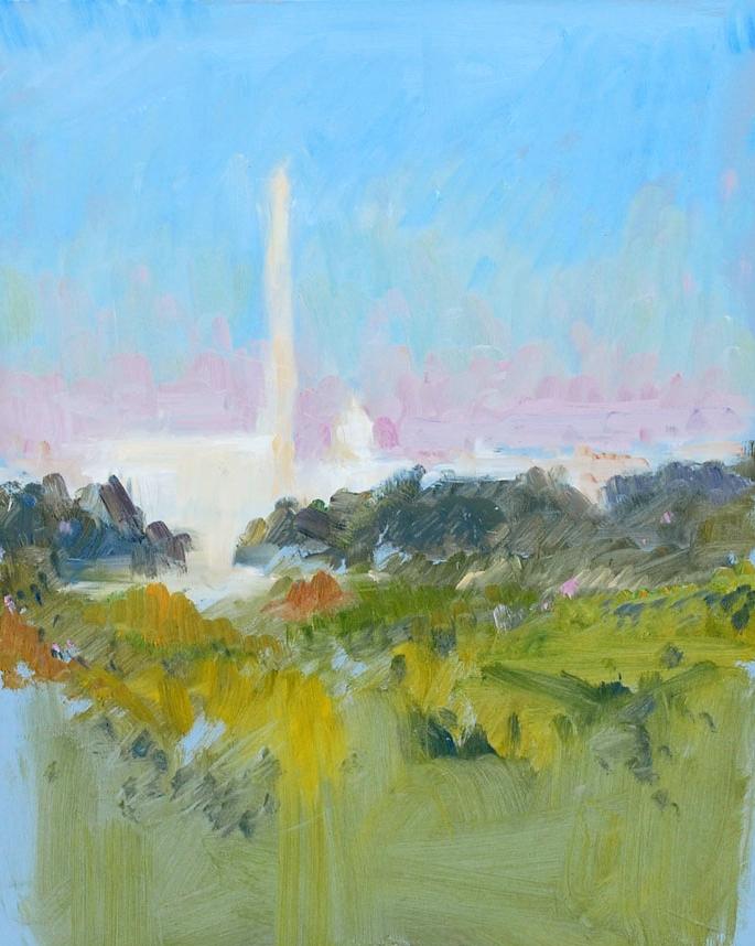 Washington, DC from Iwojima