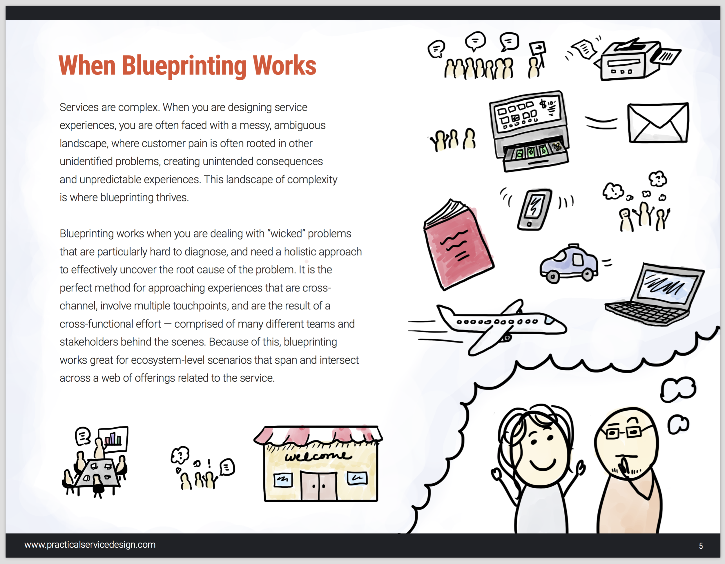 Learn the best times to use the Practical Service Blueprint in your daily work