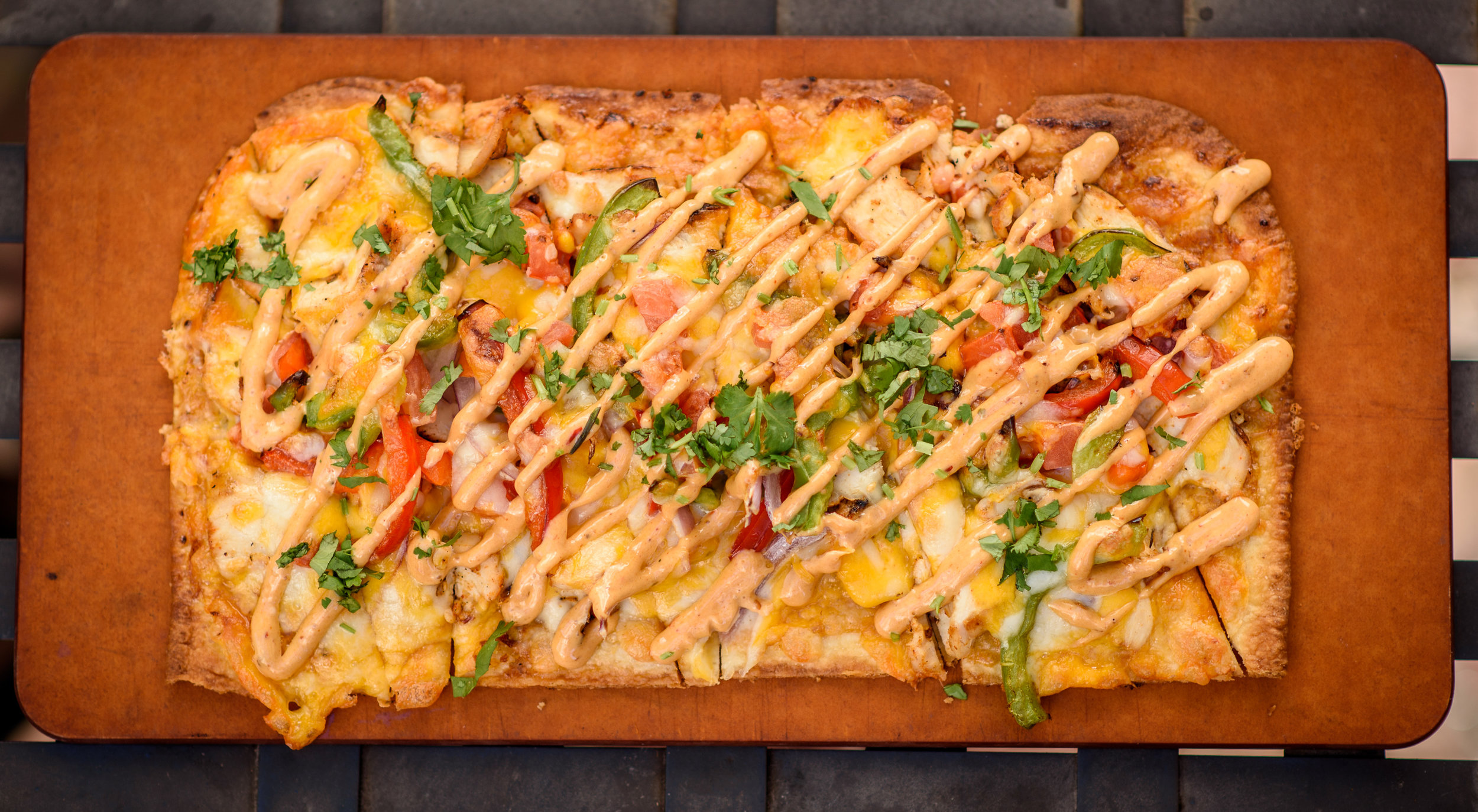 Chipotle Chicken Flatbread