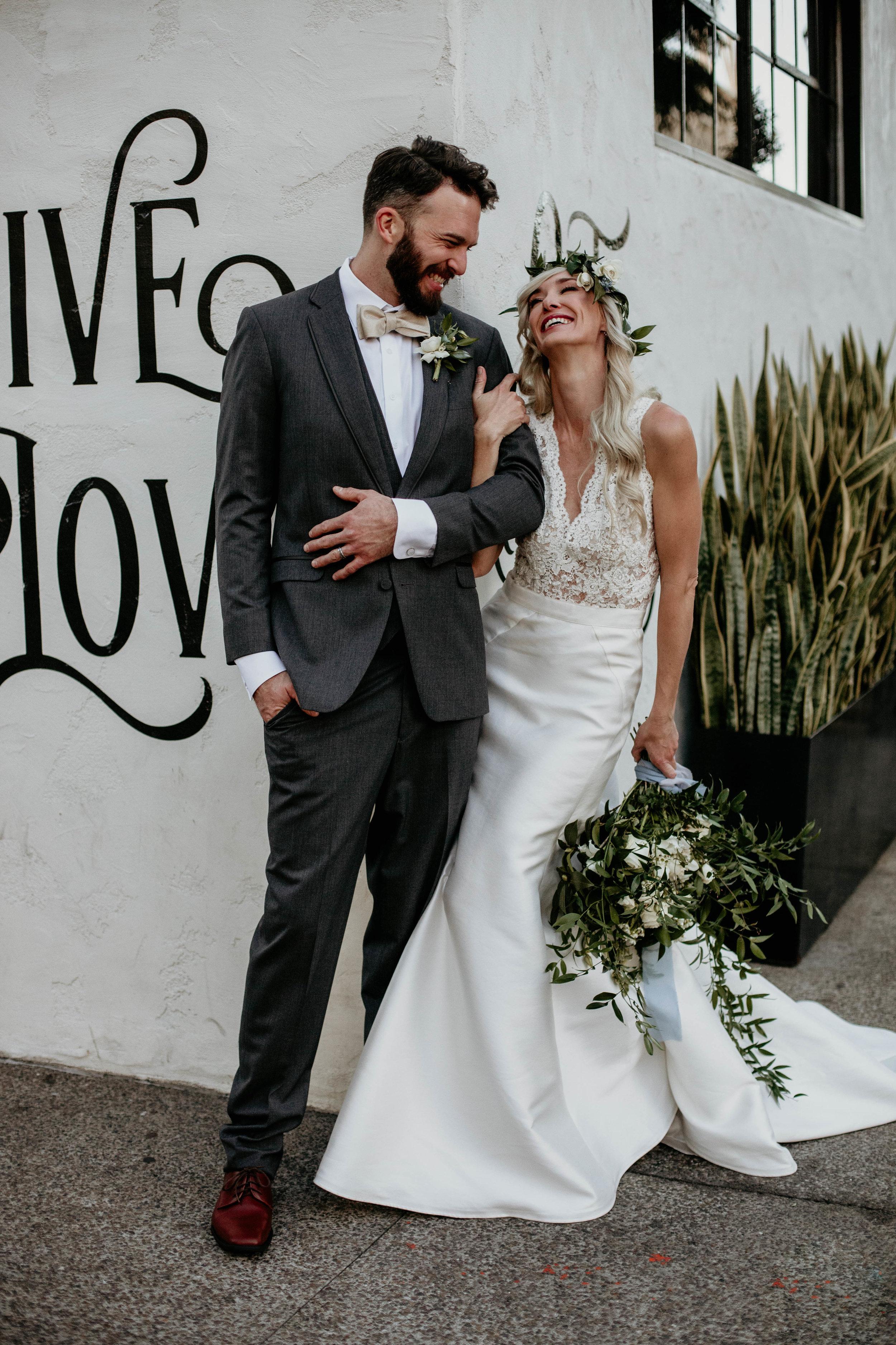 rustic loft wedding