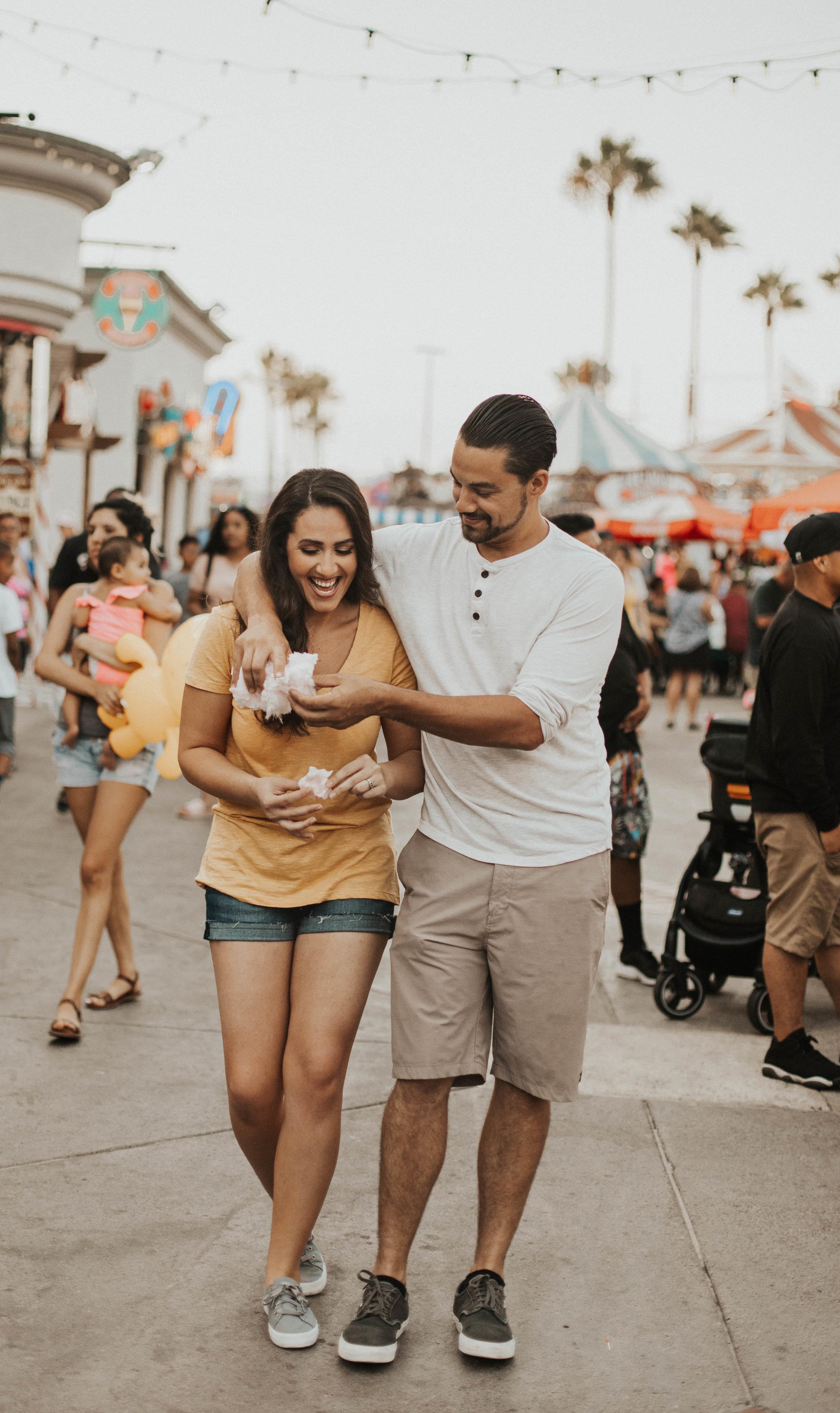 amusement park engagement