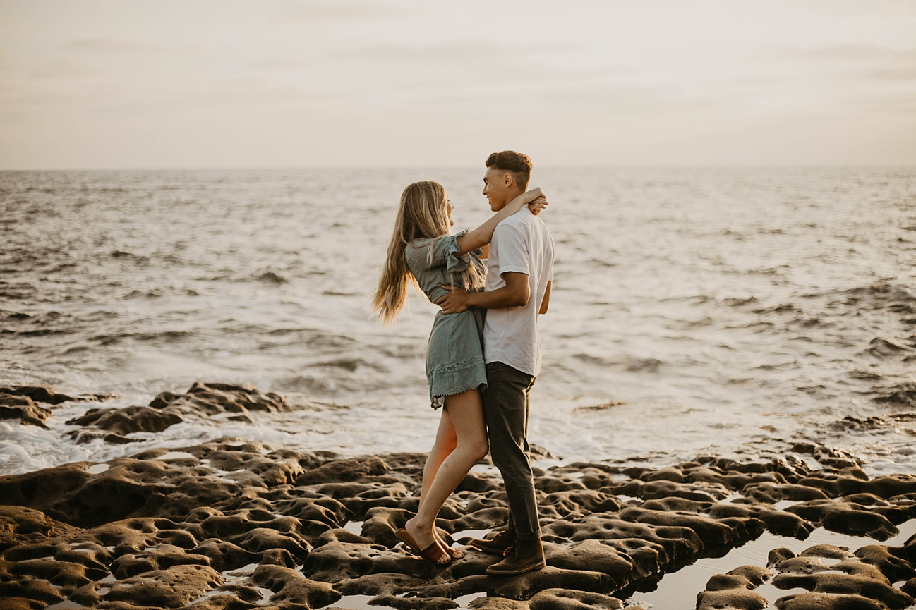 Sunset Cliffs Engagement