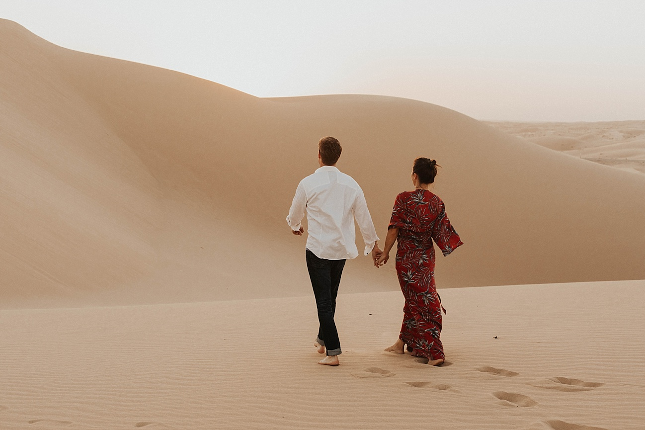 Sand dunes engagement