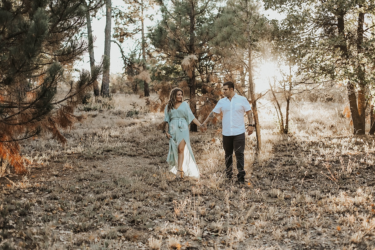 Fall forest engagement