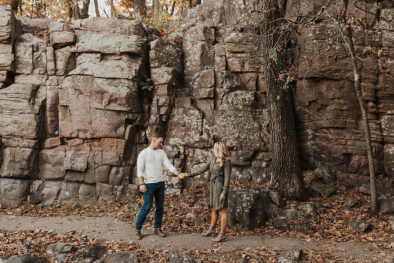 Devil's Lake Wisconsin Engagement