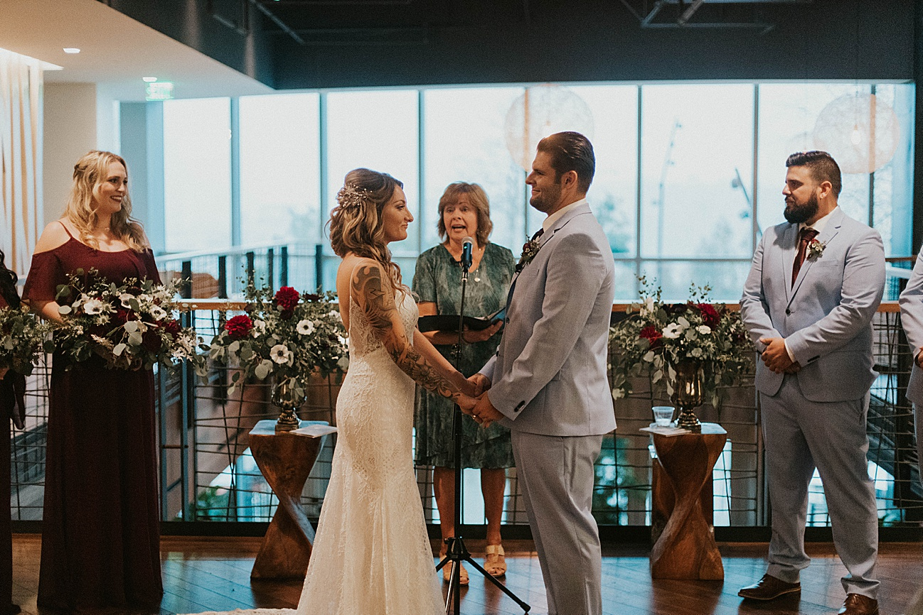 green acres wedding ceremony