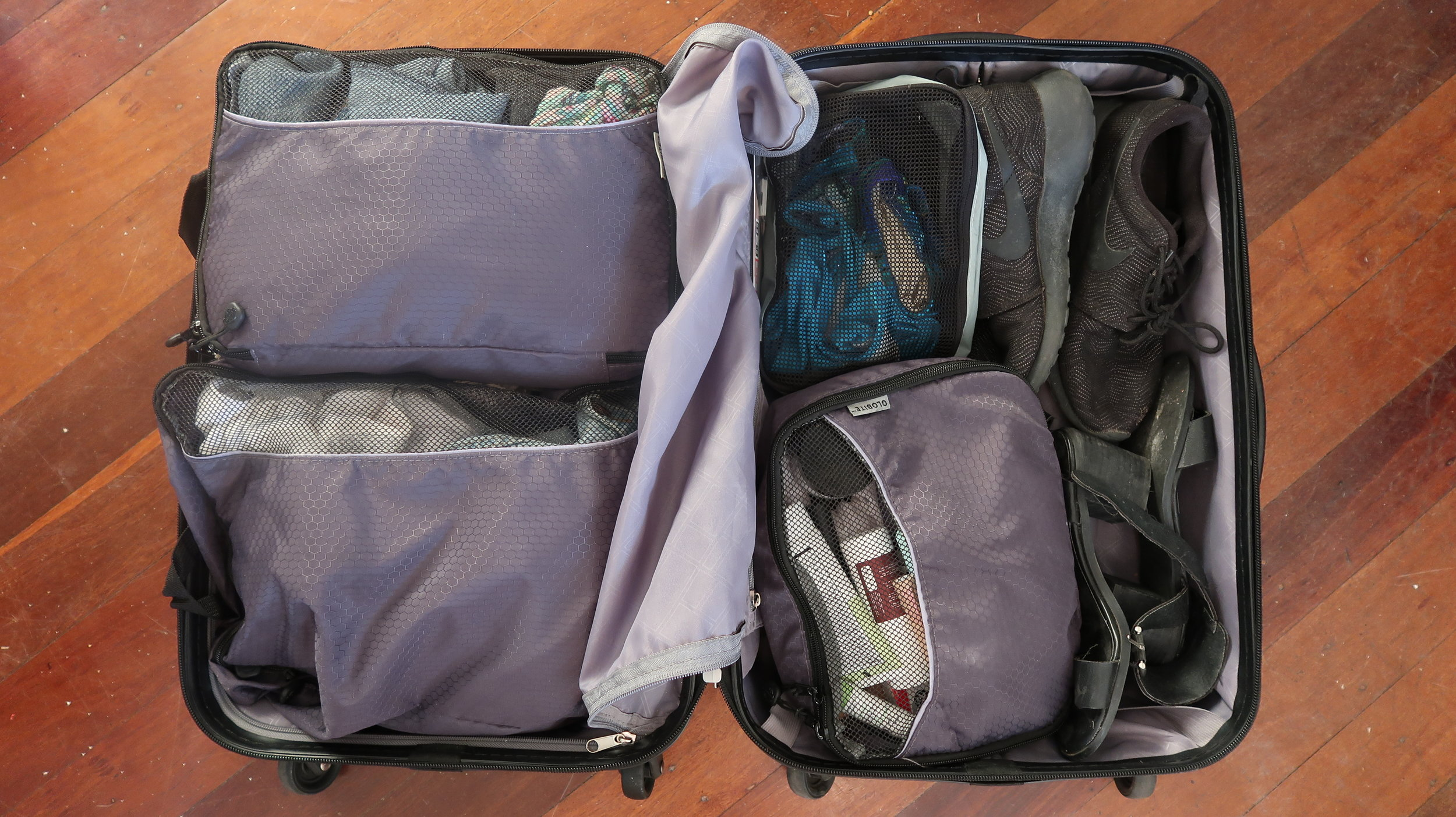 MIssing from my bag: My laptop and camera that I'm making this blog post with.