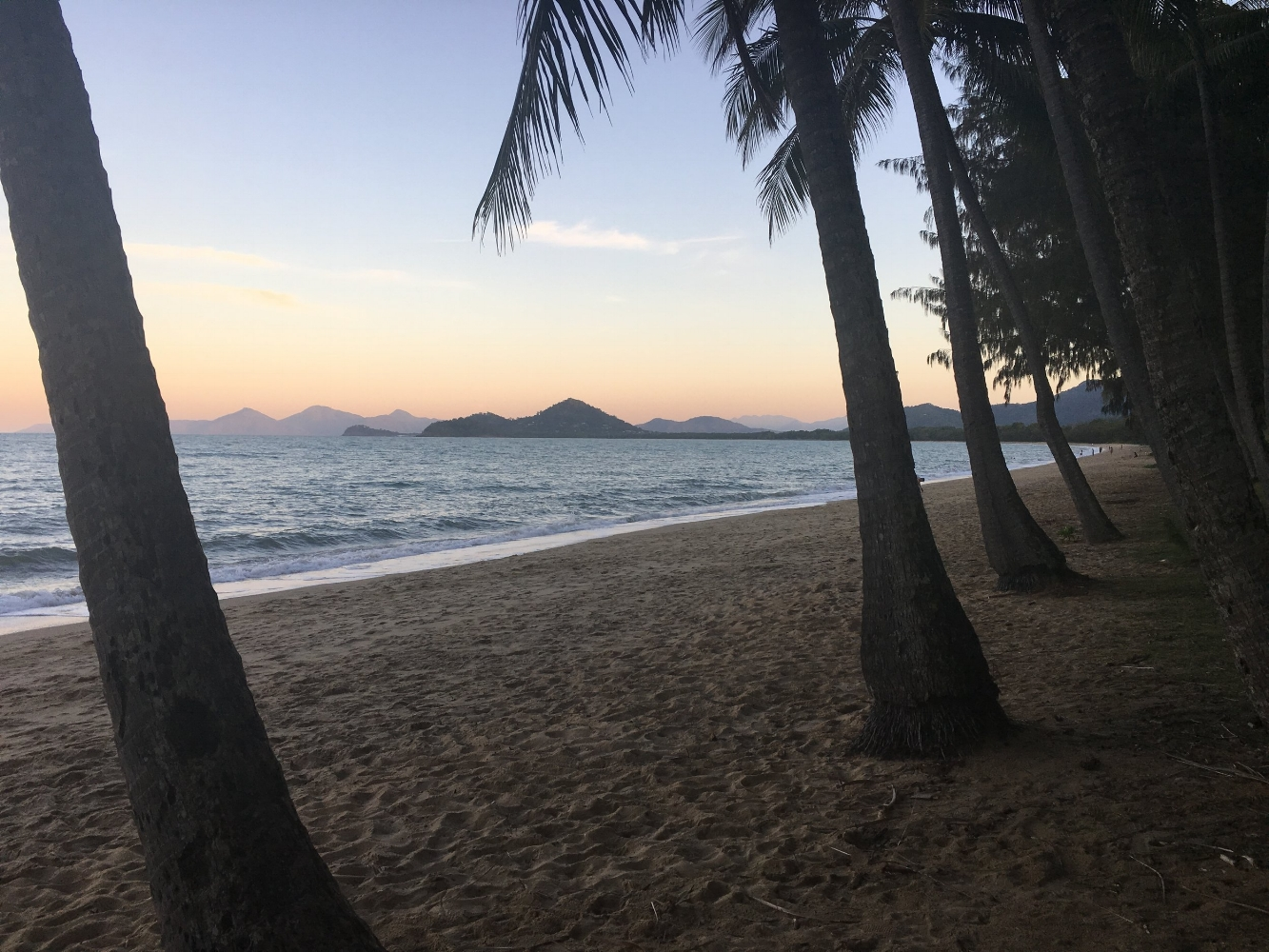 Palm Cove sunset