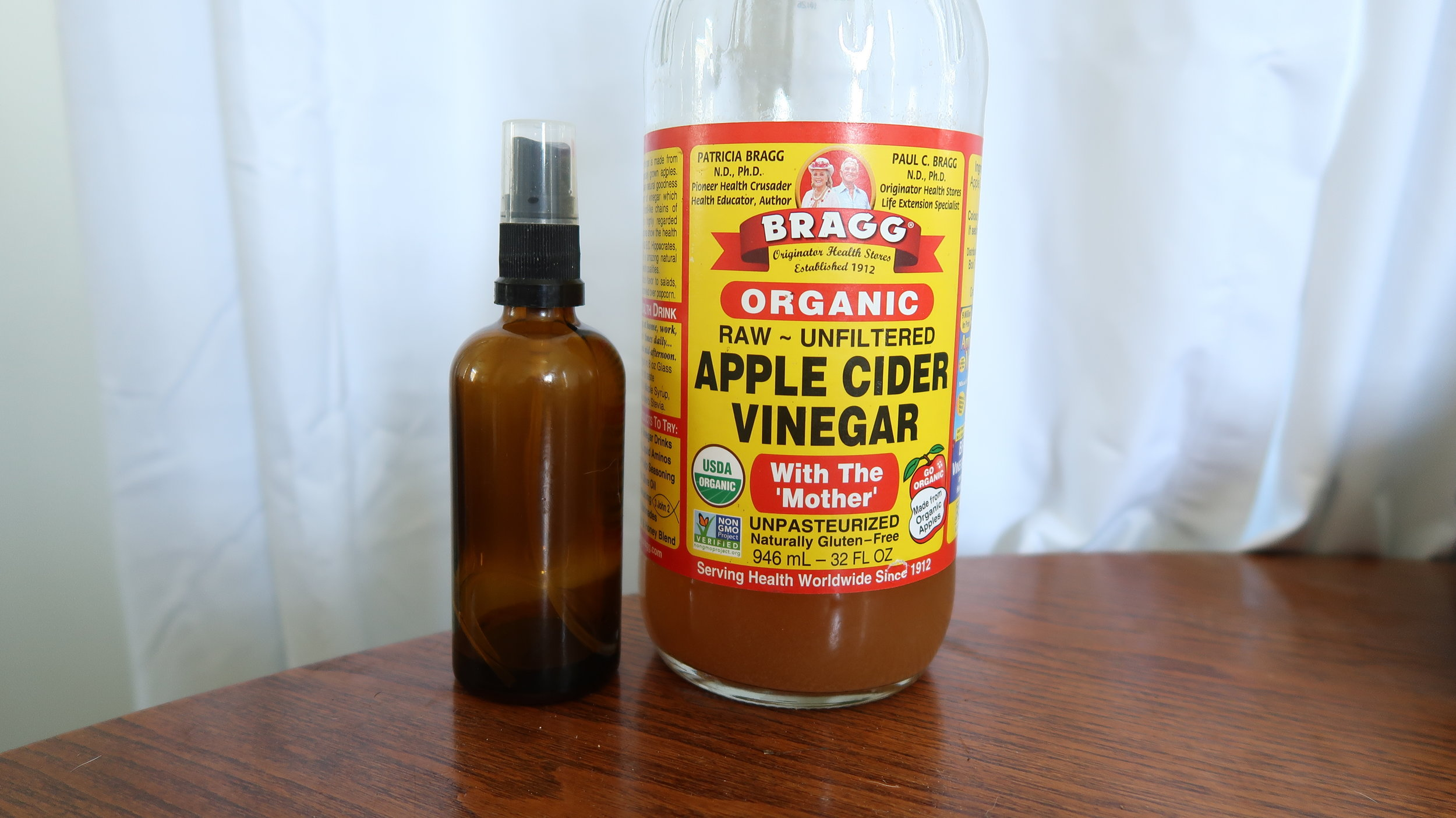 no poo apple cider vinegar