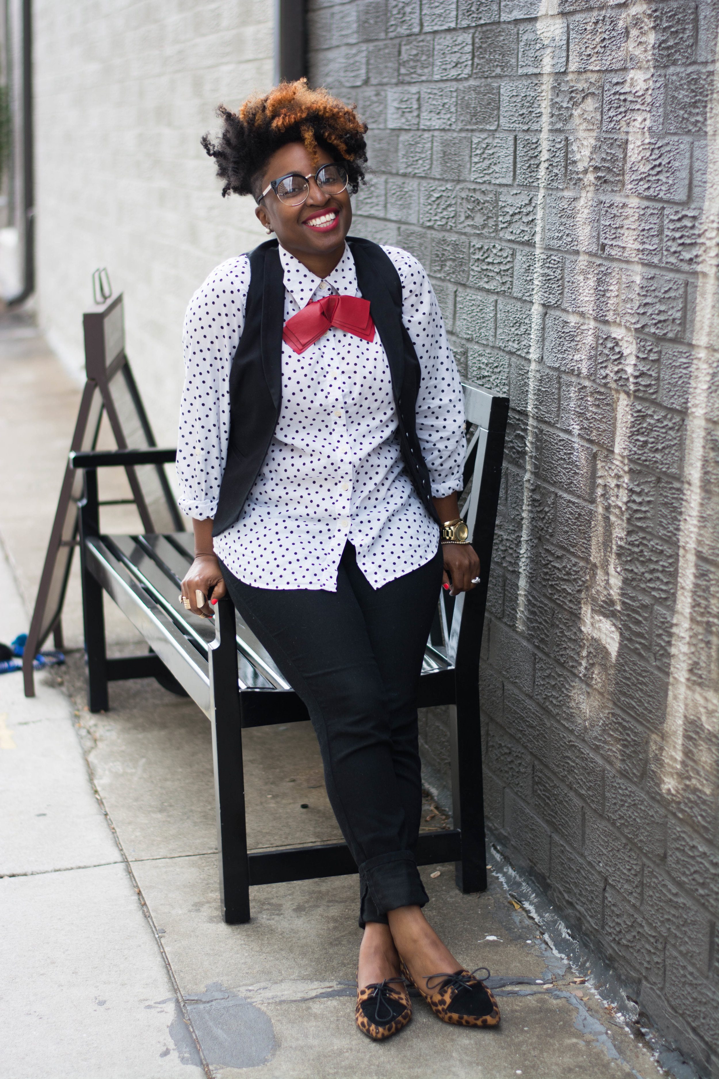 Melodie Stewart-The Style Klazit-Polkadots-Funky Flair Boutique-Atlanta Style Blogger-Atlanta Stylist