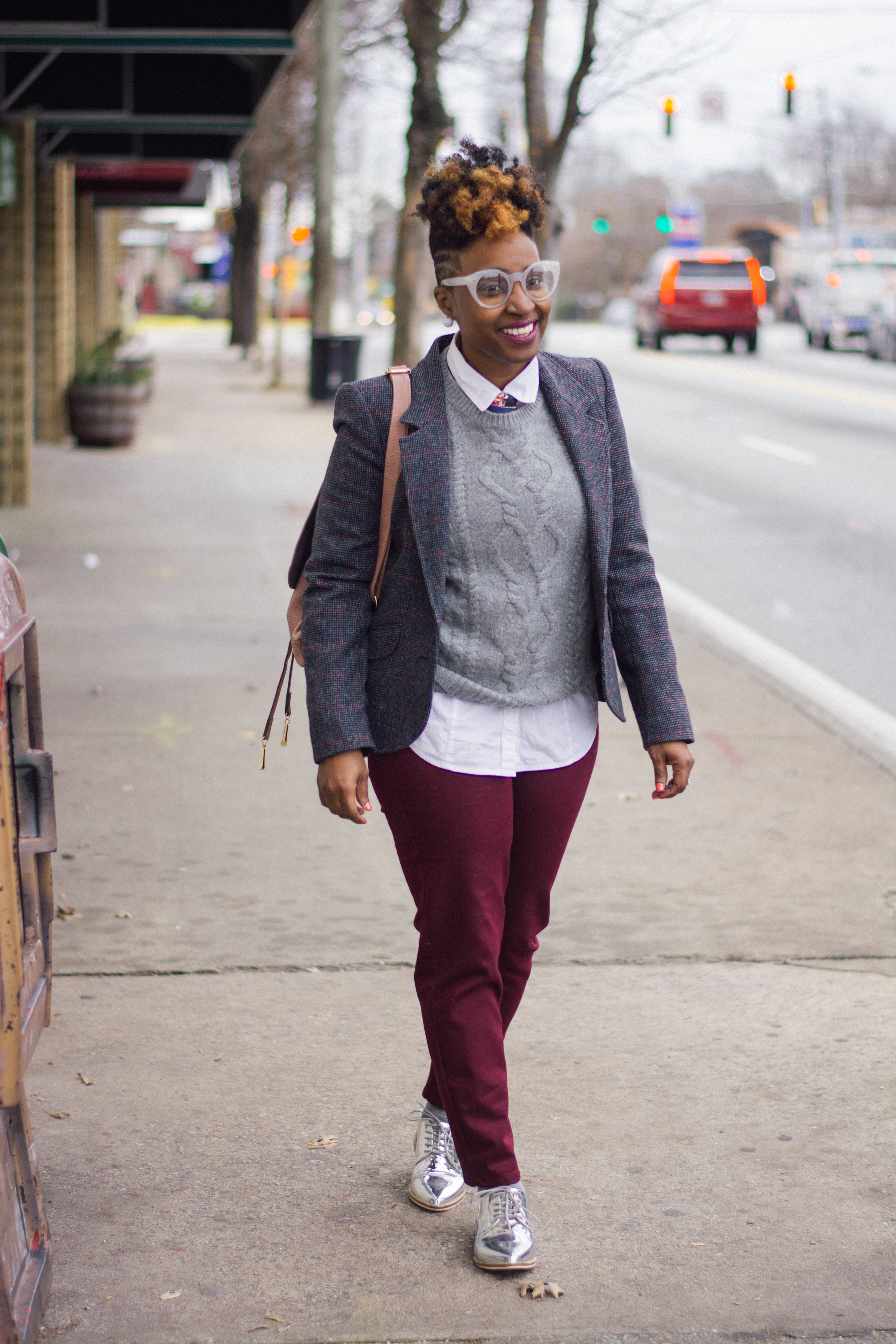 Melodie Stewart, The Style Klazit, Atlanta style blogger, Atlanta stylist, Men's inspired look