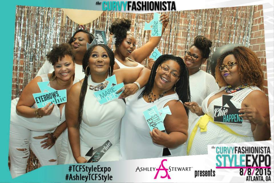 Melodie Stewart, The Style Klazit, The Curvy Fashionista, TCFStyleExpo, Atlanta Plus size bloggers