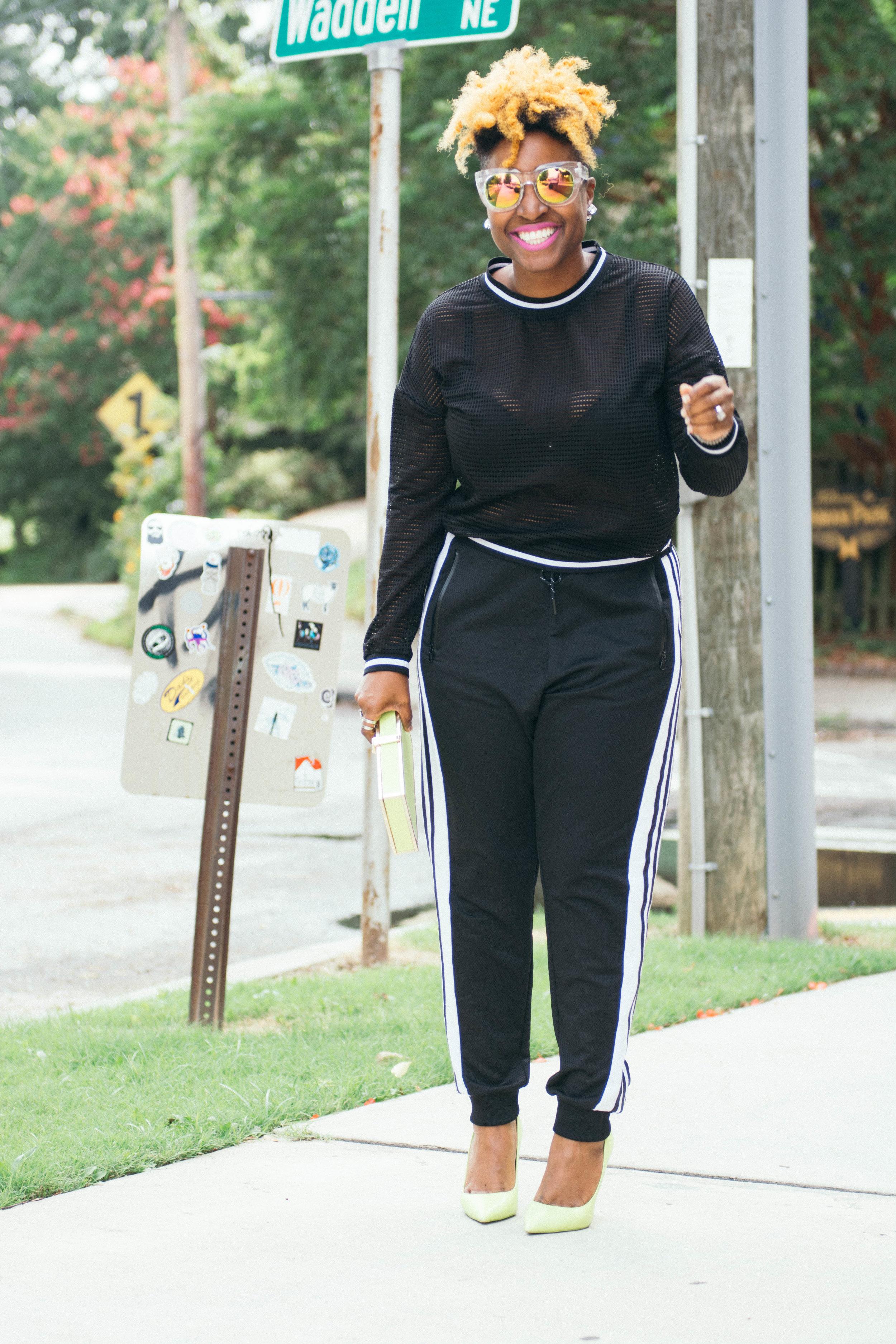 Melodie Stewart, The Style Klazit, Thebigfashionguy, Plussize fashion, Atlanta style bloggers, black bloggers, TCFStyle Expo
