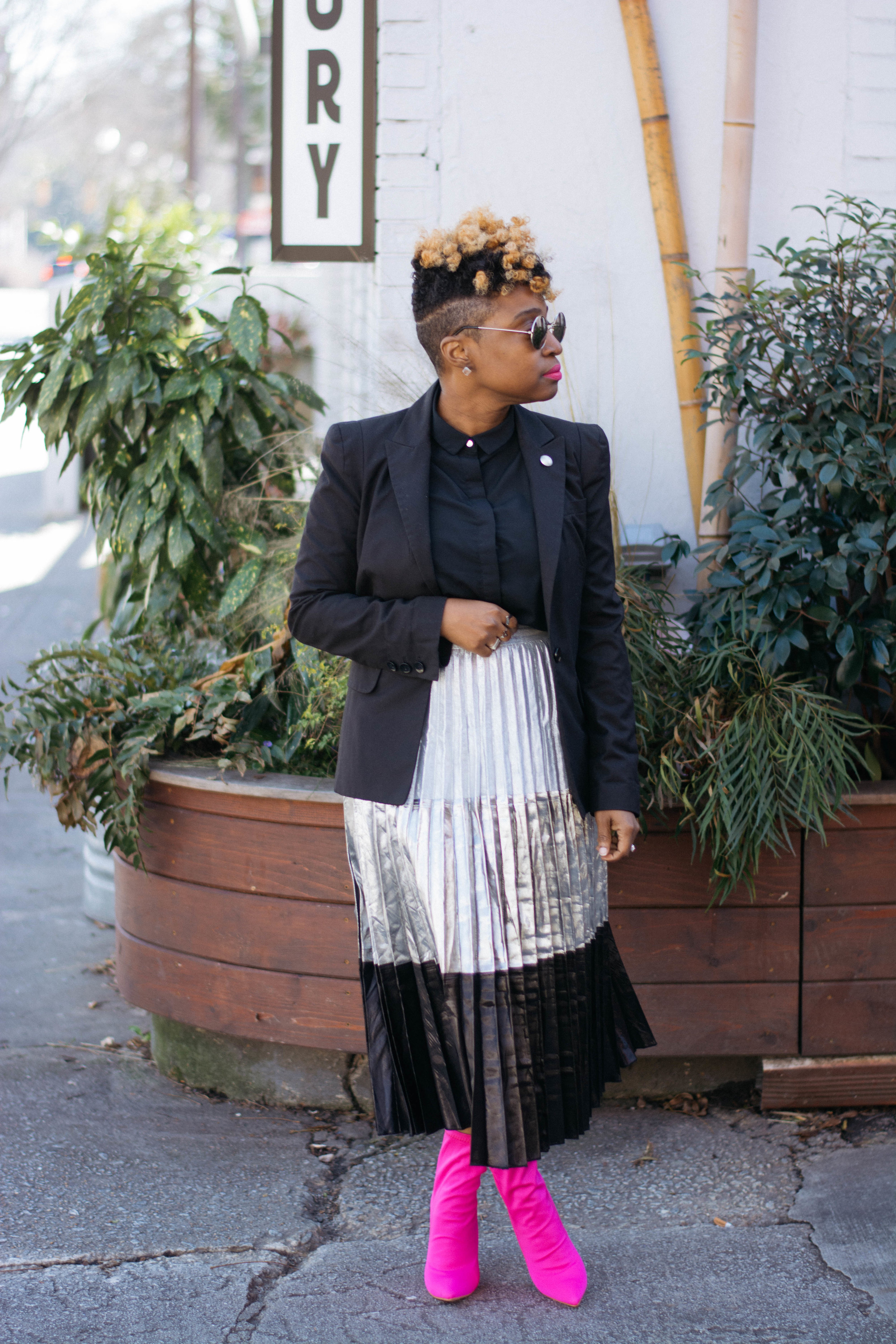 The Easiest Way To Style A Black & White Outfit