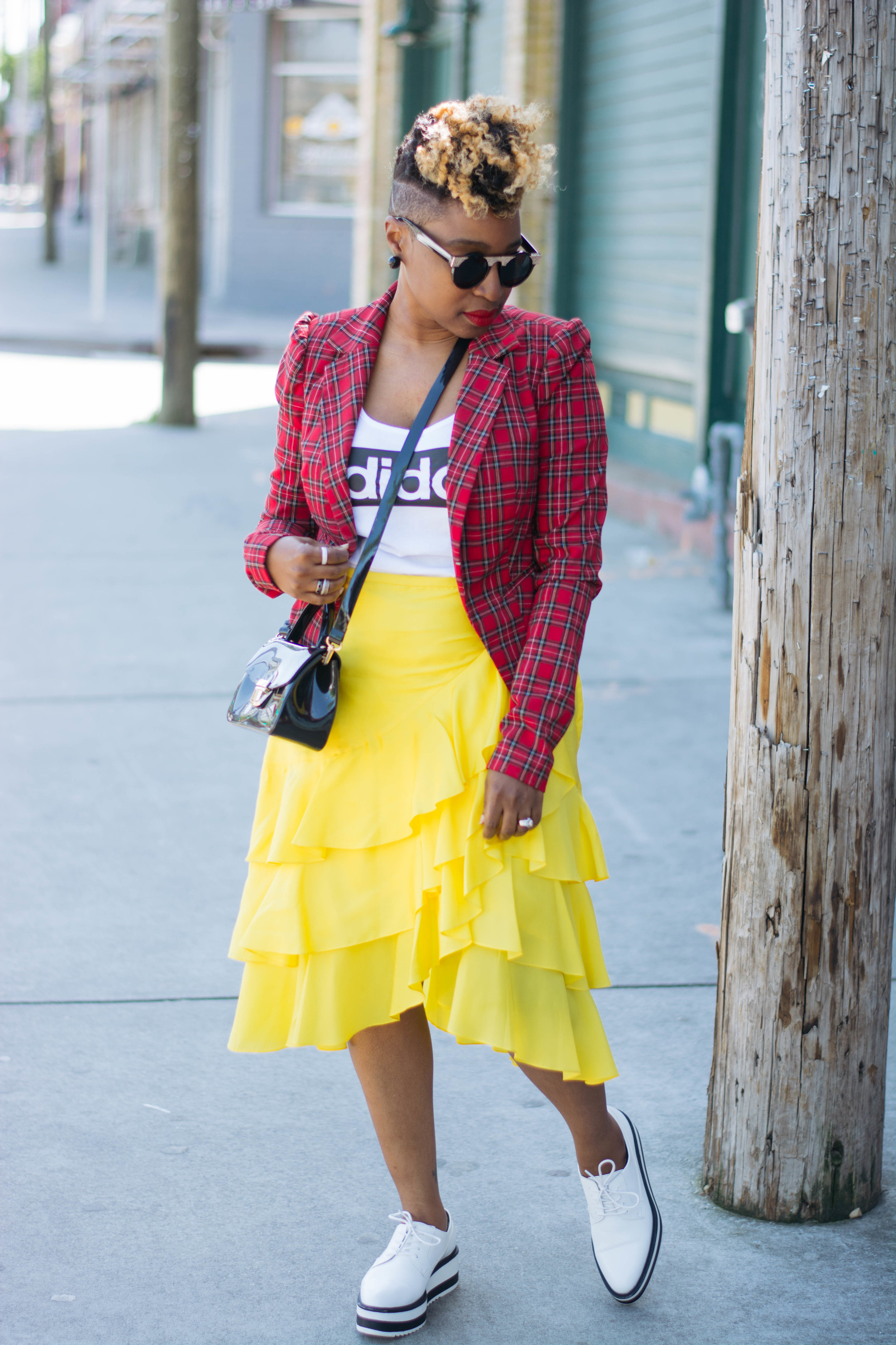 World Natural Hair Show, Top Atlanta blogger, Spring Street Style