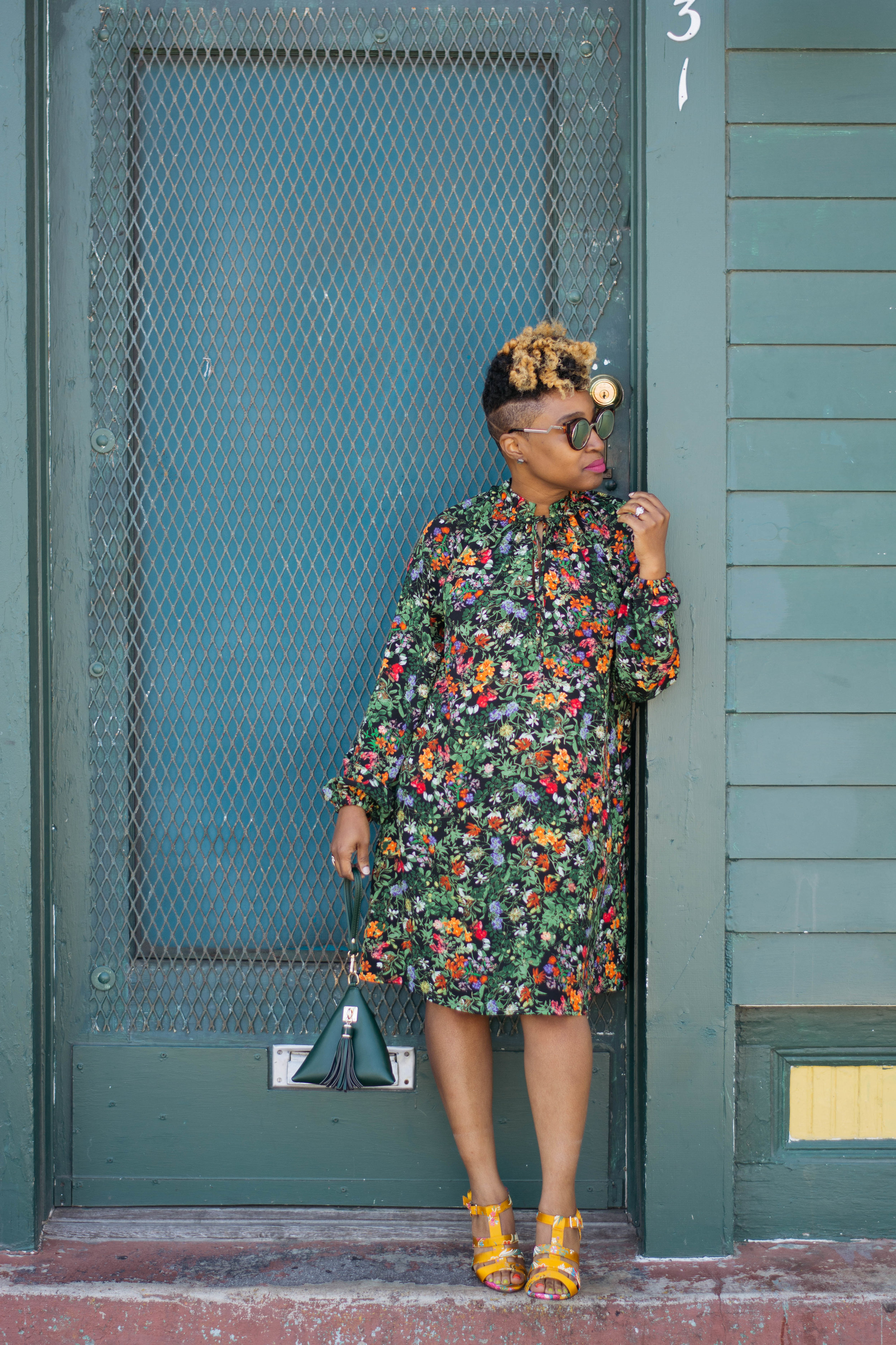 Top Atlanta blogger, Atlanta Personal Stylist, floral dress street style