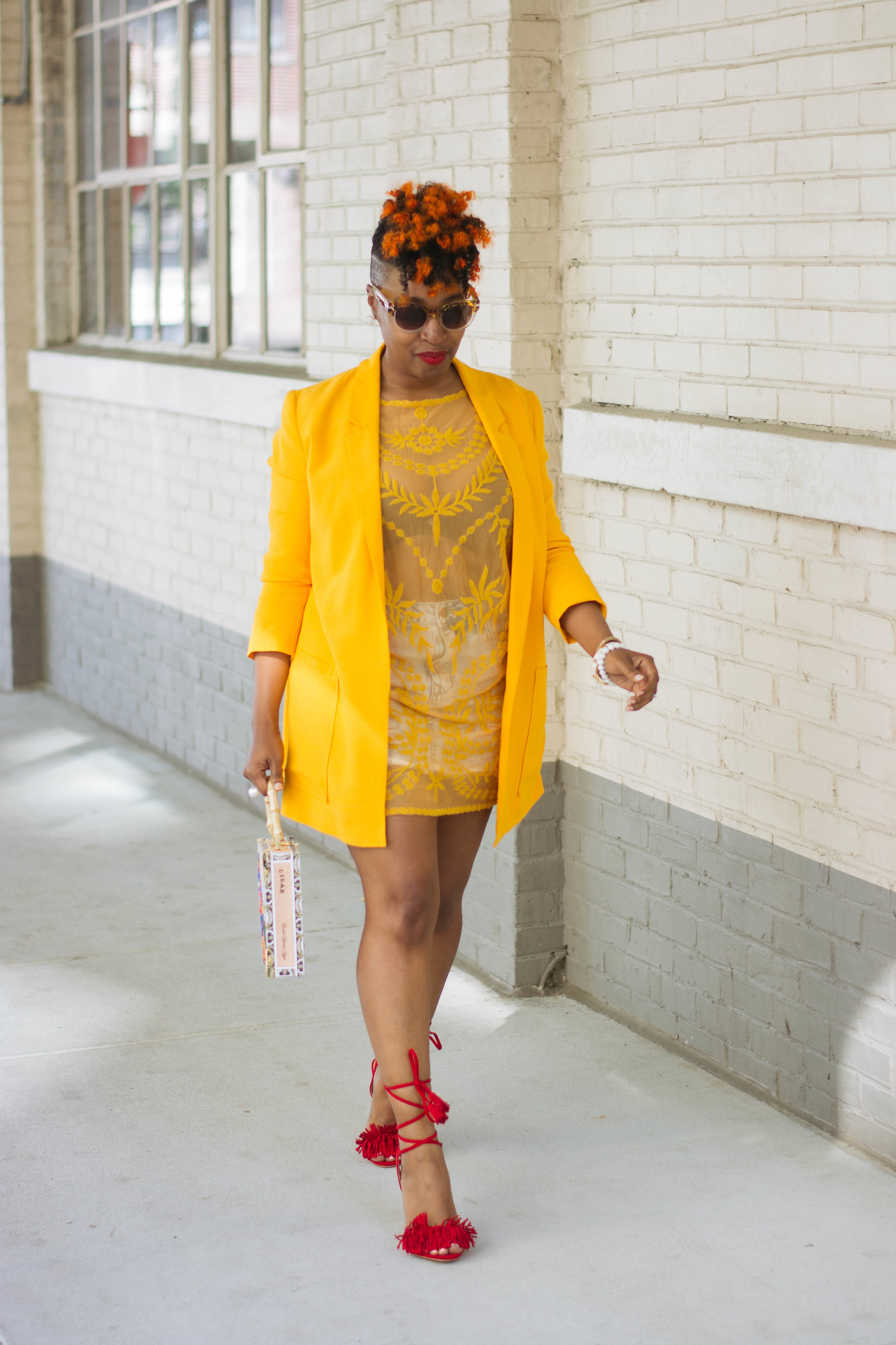 Top Atlanta Blogger, Atlanta Personal Stylist, dress over skirt Street Style