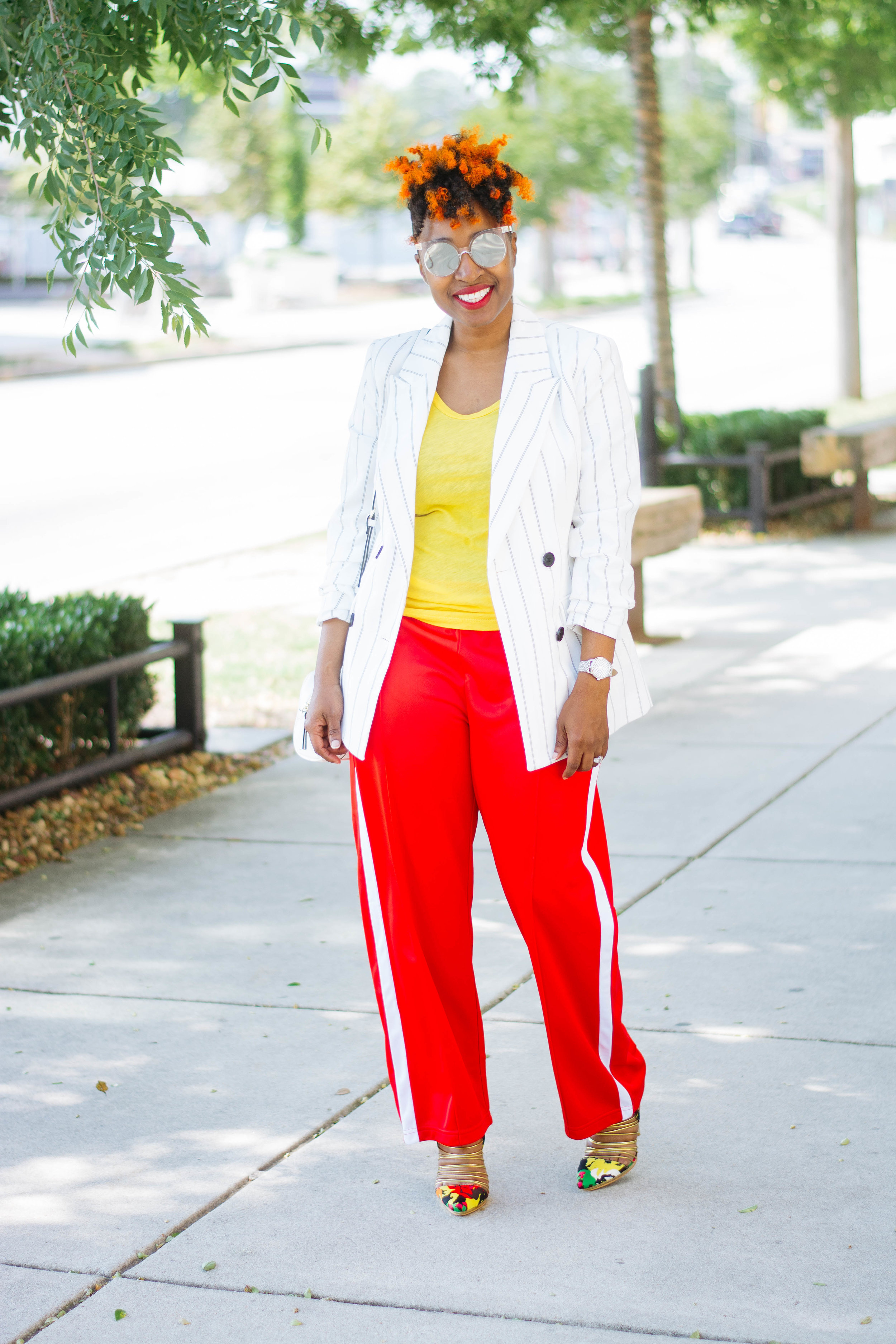 Wearing track pants to work, Atlanta Personal Stylist