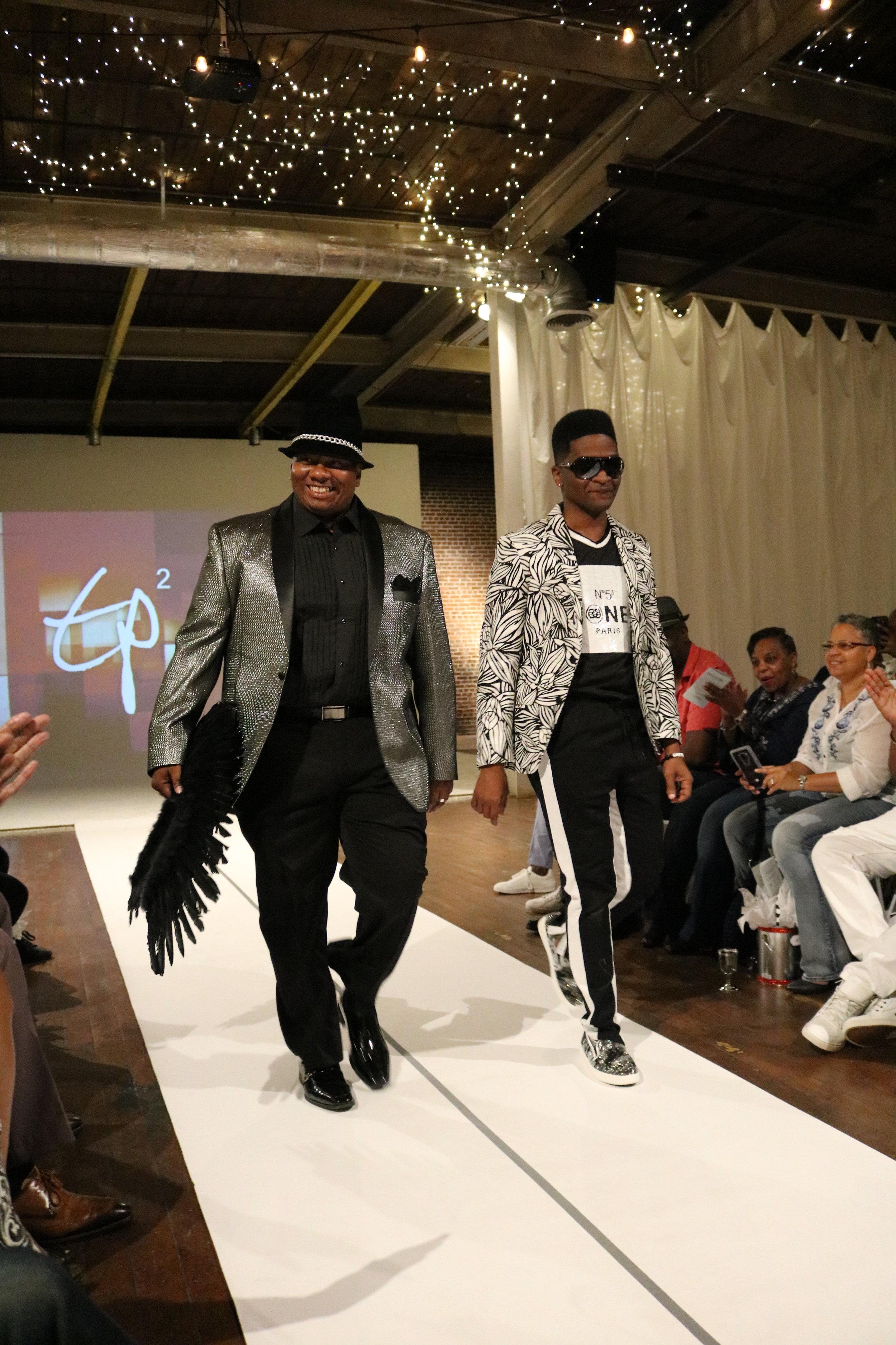 Melodie Stewart, Atlanta Style Blogger, TP Squared Menswear Fashion Show
