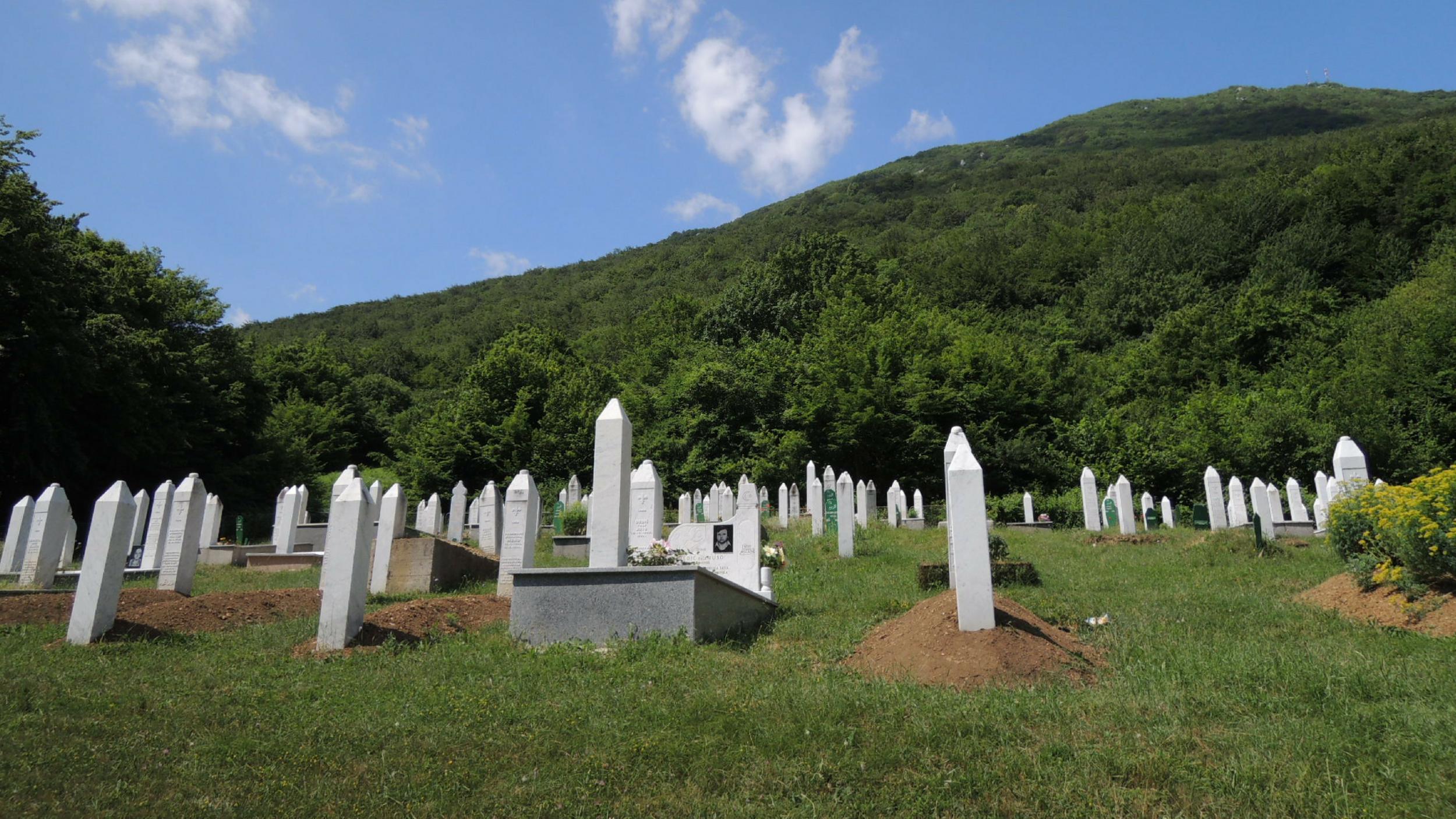 Šehidsko mezarje, Duliba, Bosnia-Herzegovina | Photo by Max Bergholz