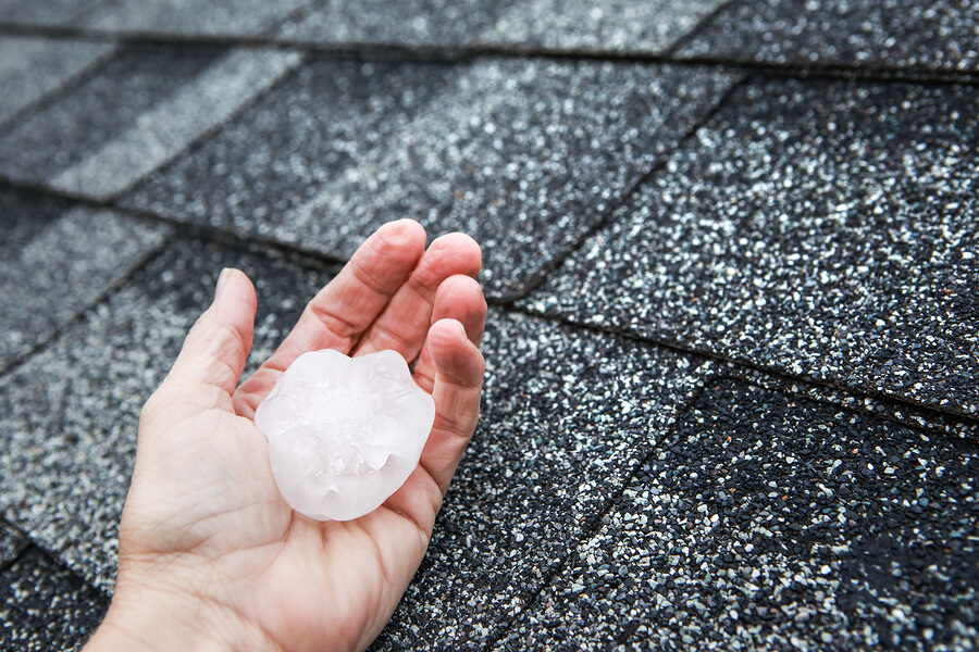 hail damage shingle damage exterior damage roof replacement minneapolis minnesota twin cities roofing contractor storm damage restoration