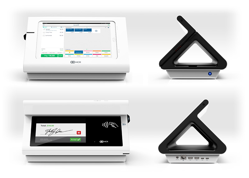 - In business for over 130 years National Cash Registers(NCR) understands what businesses need in a Point-of-Sale system. By combining the simplicity of using an iPad with a completely customizable POS system, you can easily accept a variety of payment types including EMV as well as use the powerful technology within to run your business more efficiently. Included with NCR Silver is the Silver Concierge service, software updates, inventory management, 24/7 Live customer support, marketing and much more.