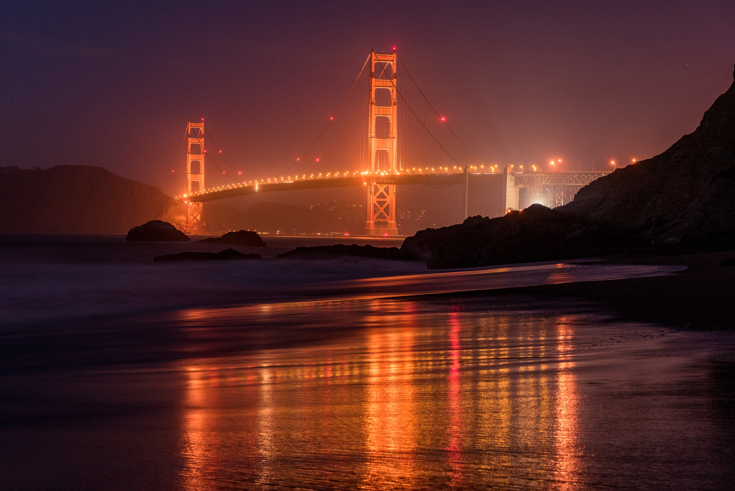 Golden Gate Reflections