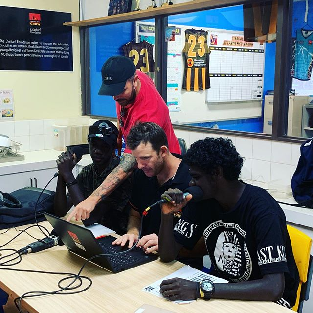 @rirratjingu are proud to sponsor the Clontarf Footy Show. Yolngu Radio are producing the show that also counts towards participants education results for the year. Follow our Facebook page where we will share links to the show once it's finished production. 📻 #rirratjingu #indigenous
