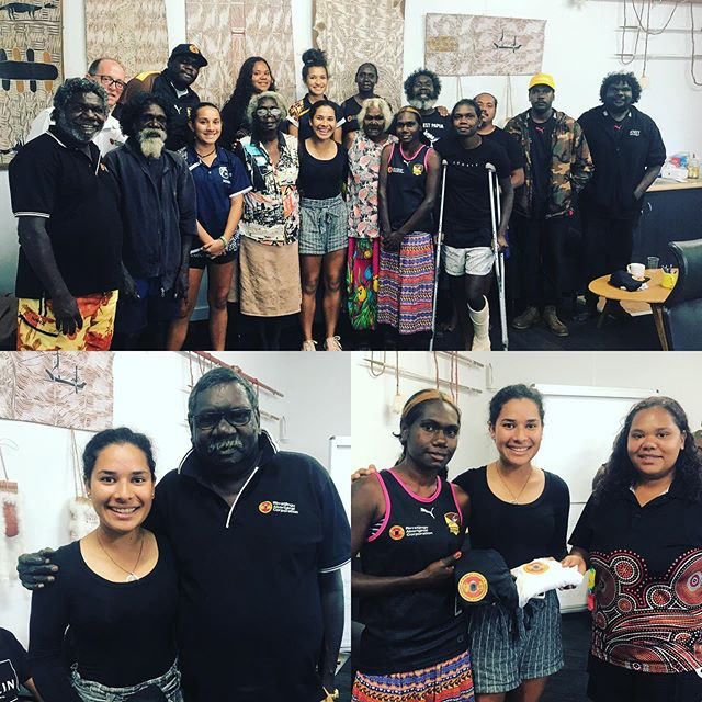 Today promising junior golfer 🏌️‍♀️ Katelyn Rika visited our headquarters as the recipient of a sponsorship package from Bunuwal Fuel. Our chairman Bakamumu Marika wished Katelyn all the best for her future tournaments. #rirratjingu #indigenous #bunuwalfuel