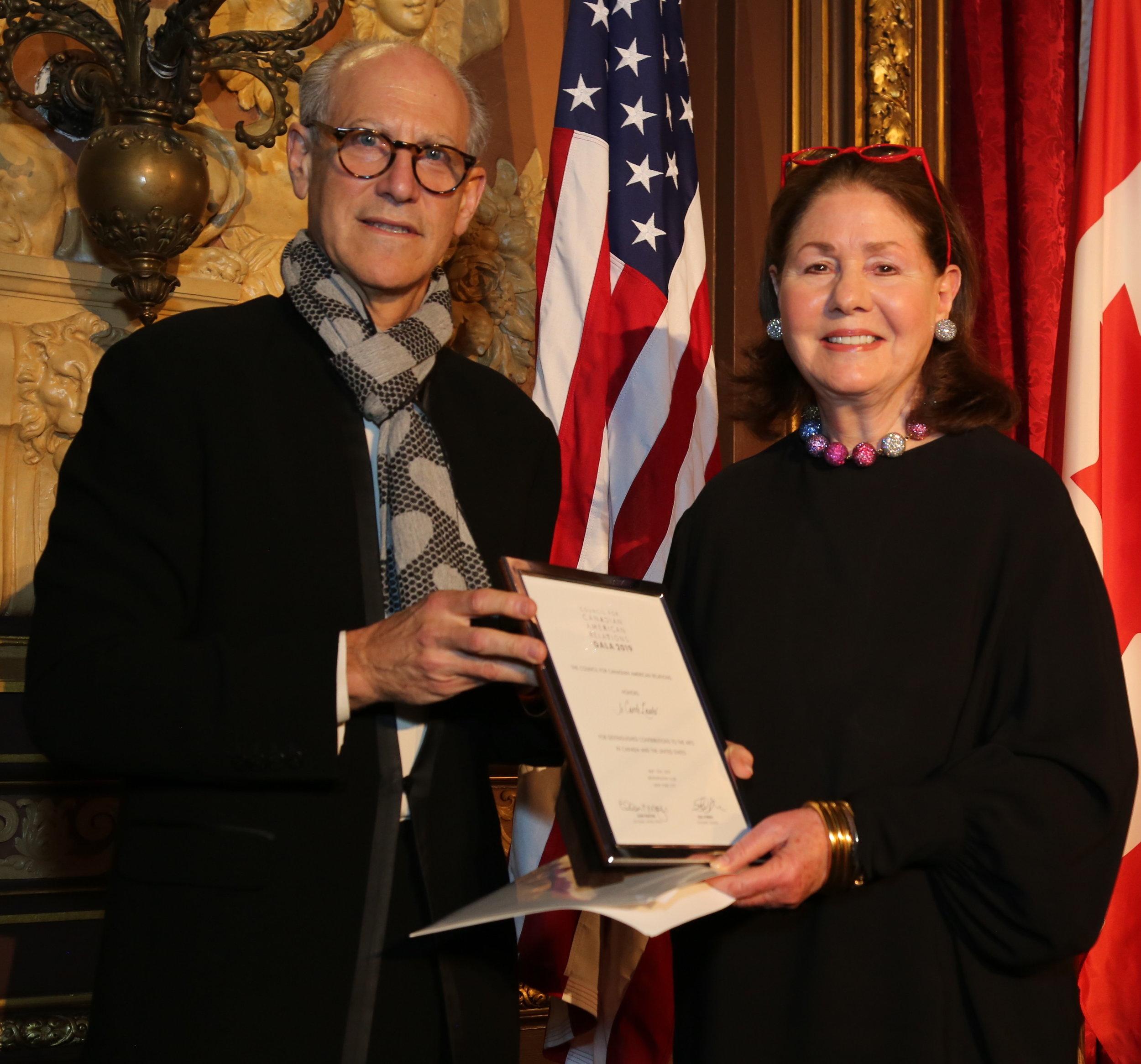 Glenn D. Lowry, Jo Carole Lauder