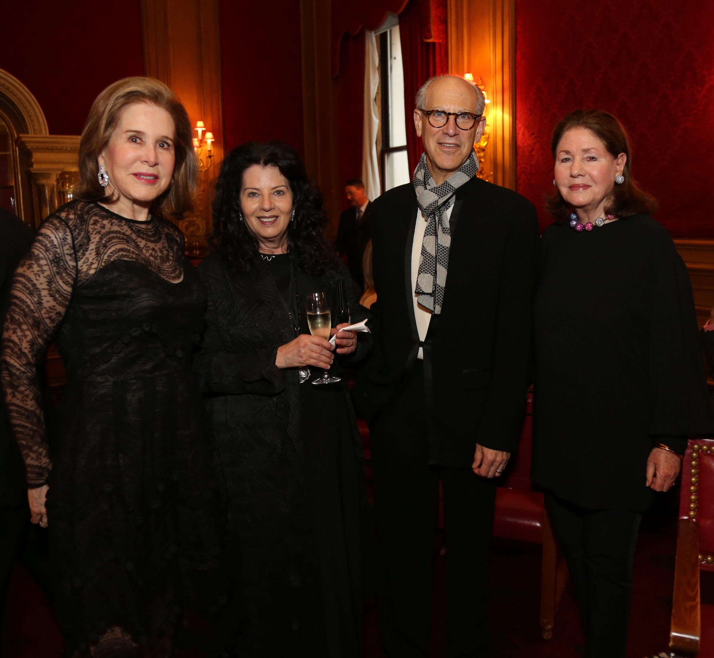 Judy Ney, Laura Rapp, Glenn D. Lowry, Jo Carole Lauder