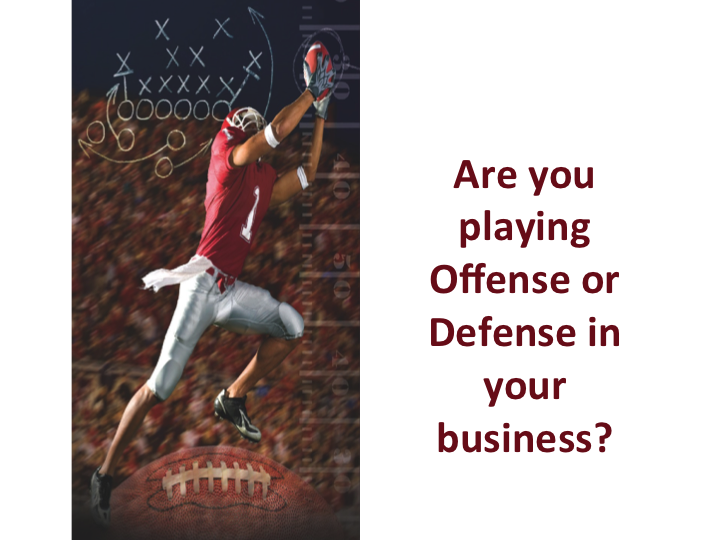 Offense vs Defense   Tony Thompson CEO and Founder NAMMBA