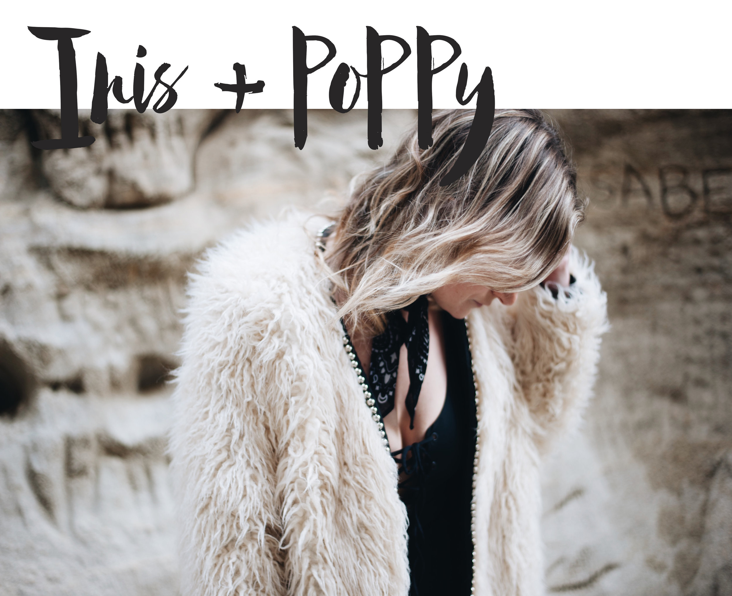 Check out a fun little collaboration with IRIS + POPPY. A fun mixture of brands and styles to create a sweet little punk rock twist. xx