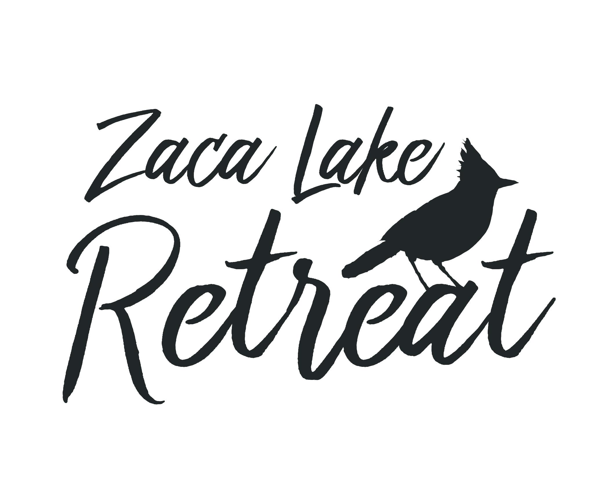 Zaca Lake Retreat Identity Design