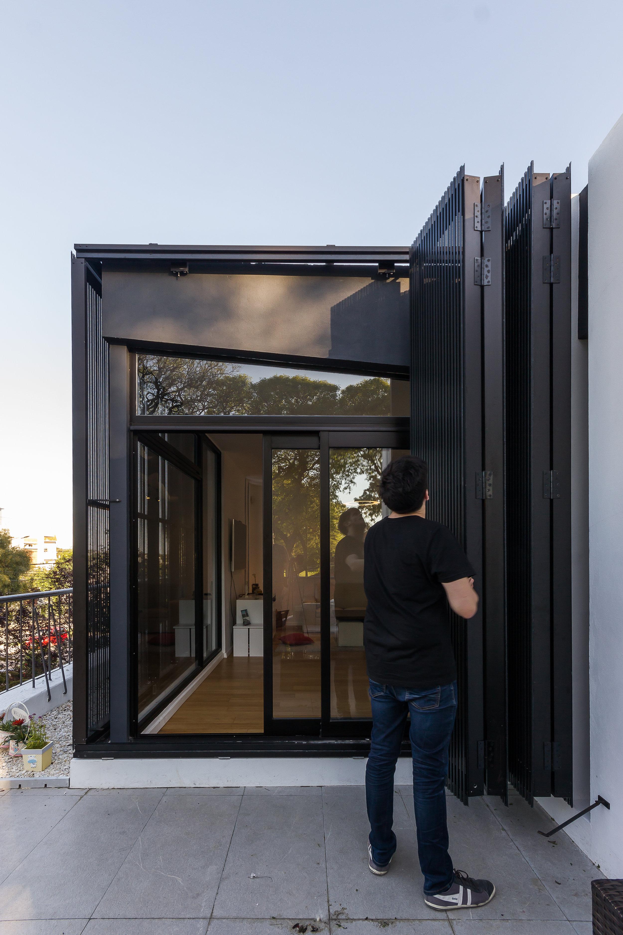 Casa Cubo negro - cubo blanco.